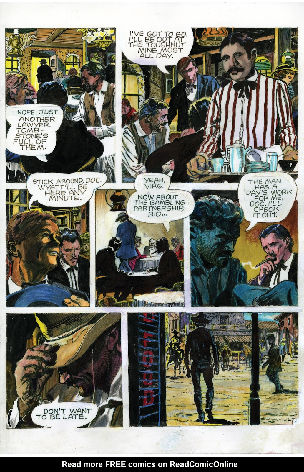 Read online Doug Wildey's Rio: The Complete Saga comic -  Issue # TPB (Part 2) - 96