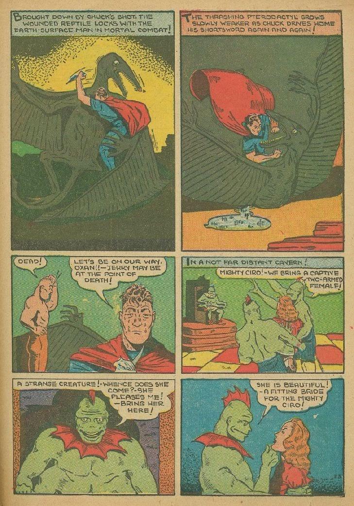 Read online Amazing Man Comics comic -  Issue #9 - 46