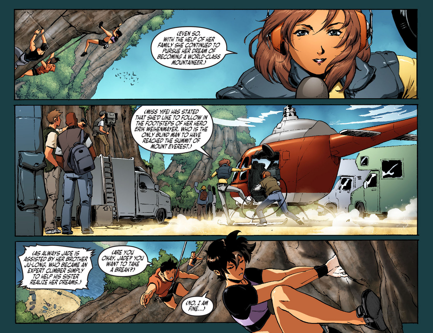 Read online Ame-Comi Girls comic -  Issue #7 - 4