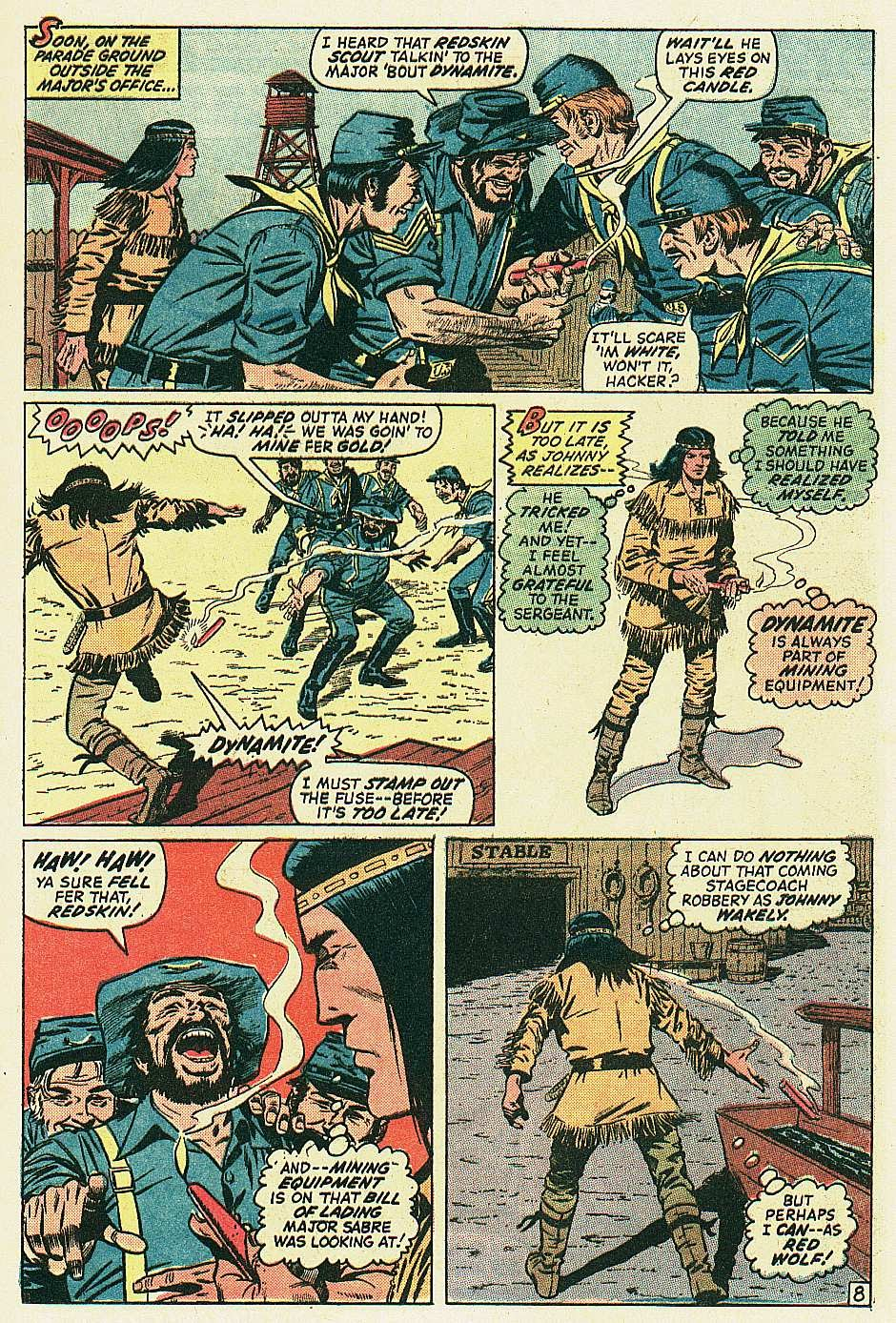 Red Wolf (1972) issue 2 - Page 9