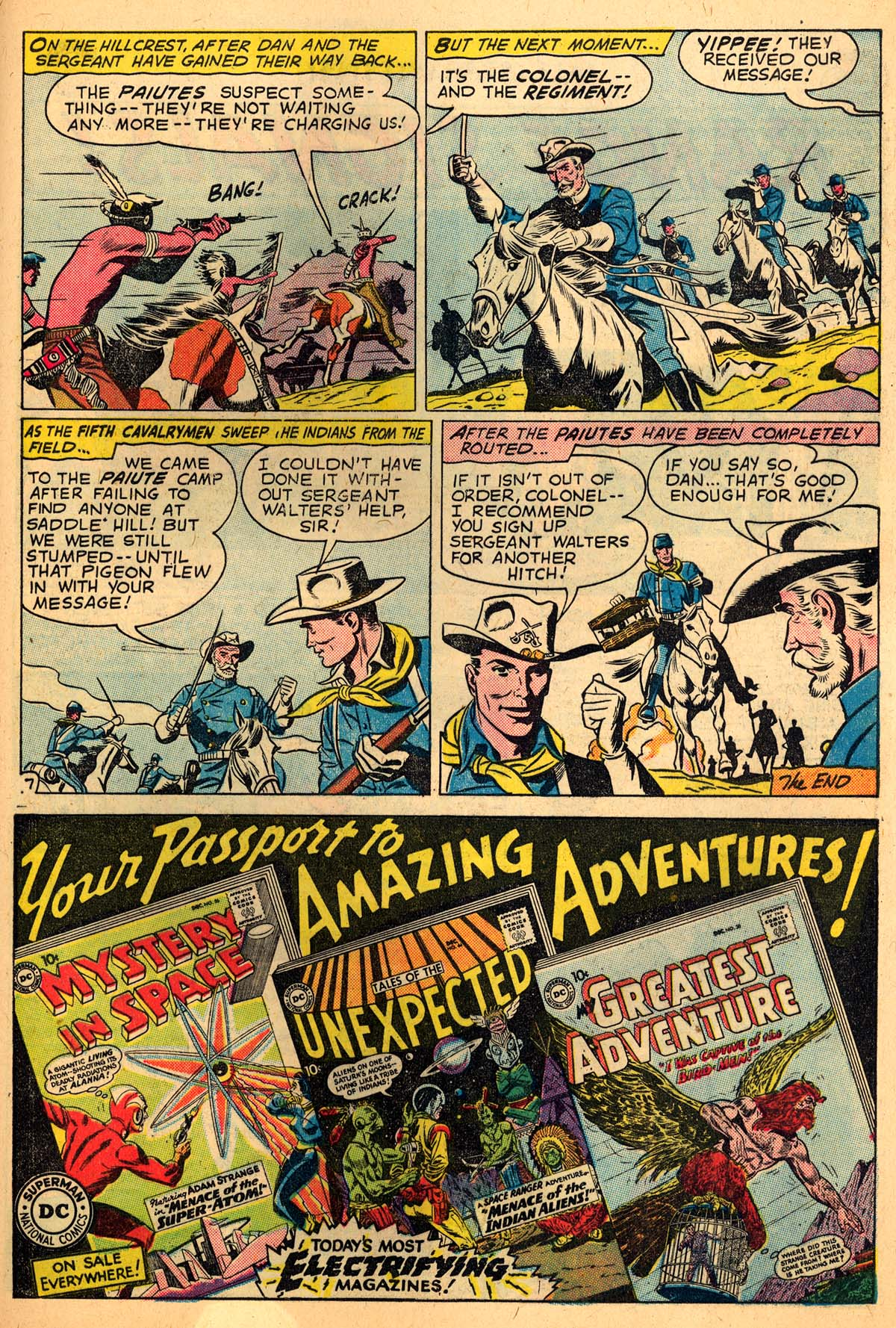 Read online All-Star Western (1951) comic -  Issue #110 - 21