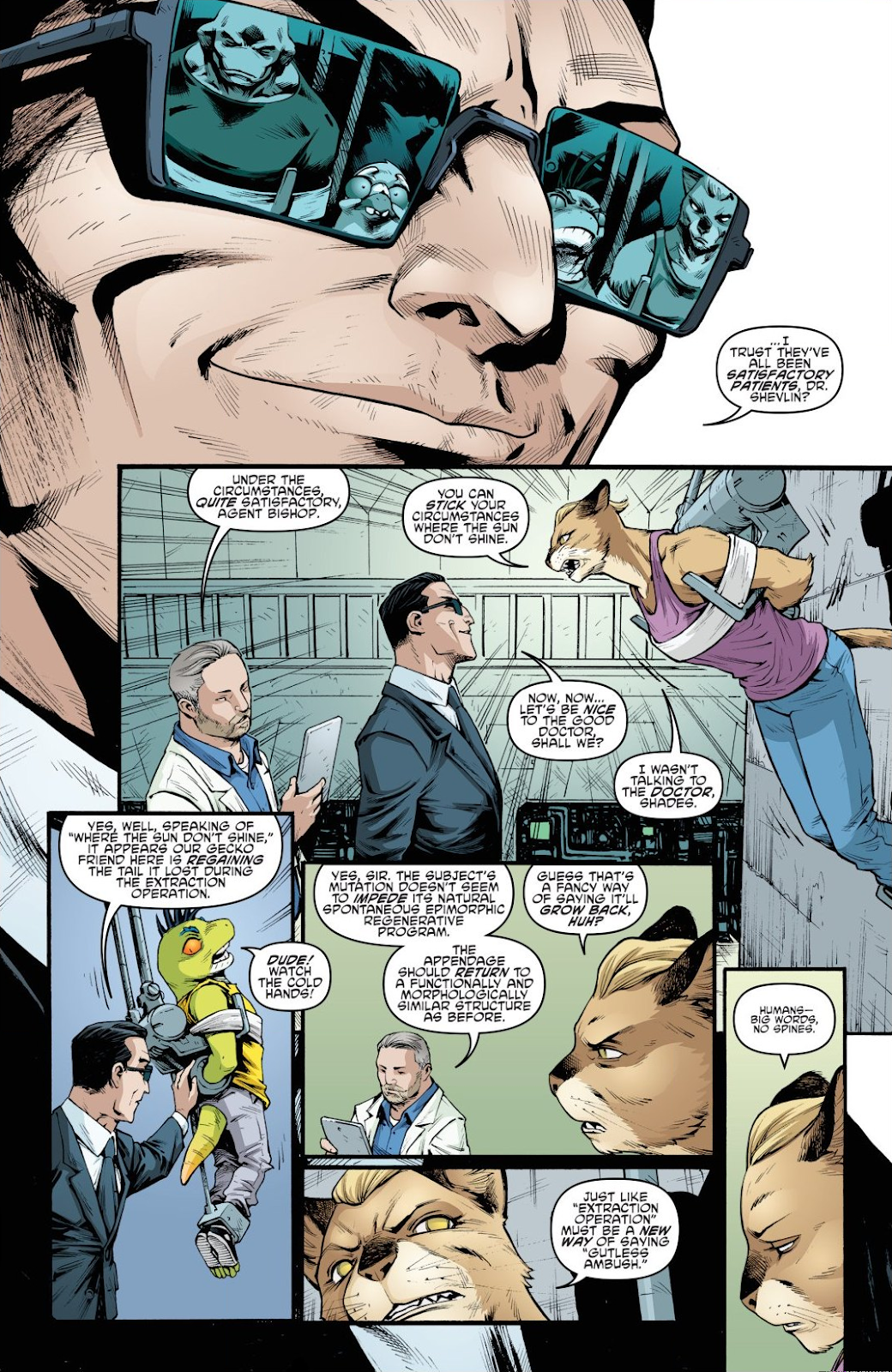 Read online Teenage Mutant Ninja Turtles: The IDW Collection comic -  Issue # TPB 9 (Part 1) - 35