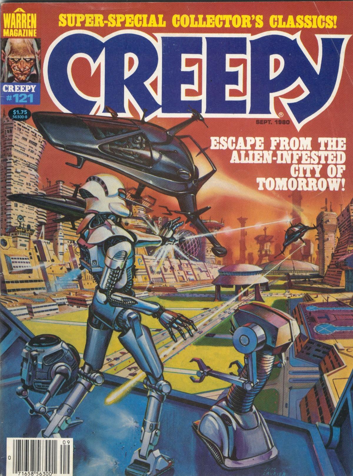 Creepy (1964) 121 Page 1