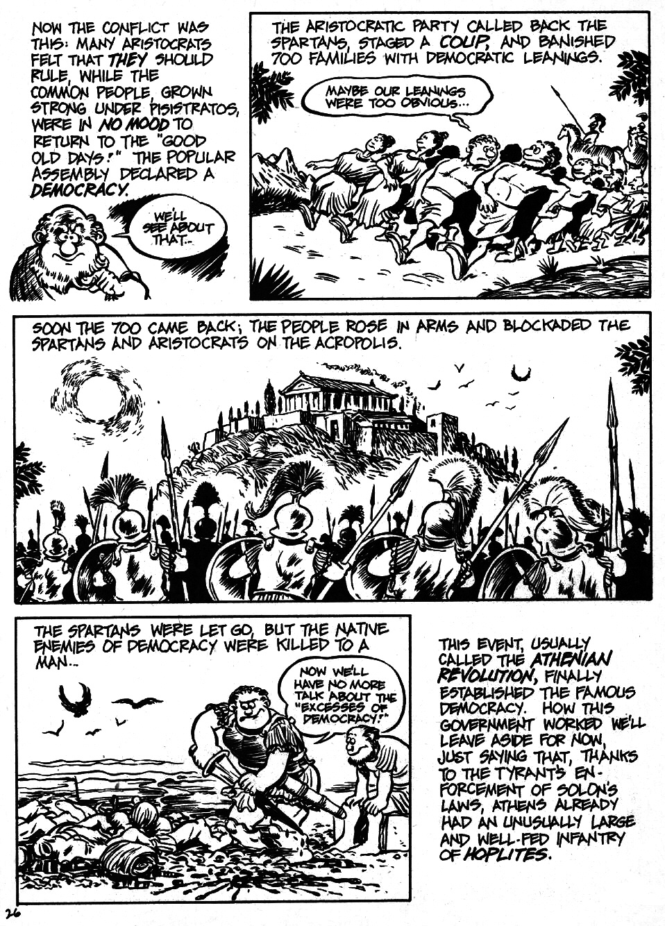 Read online The Cartoon History of the Universe comic -  Issue #6 - 28
