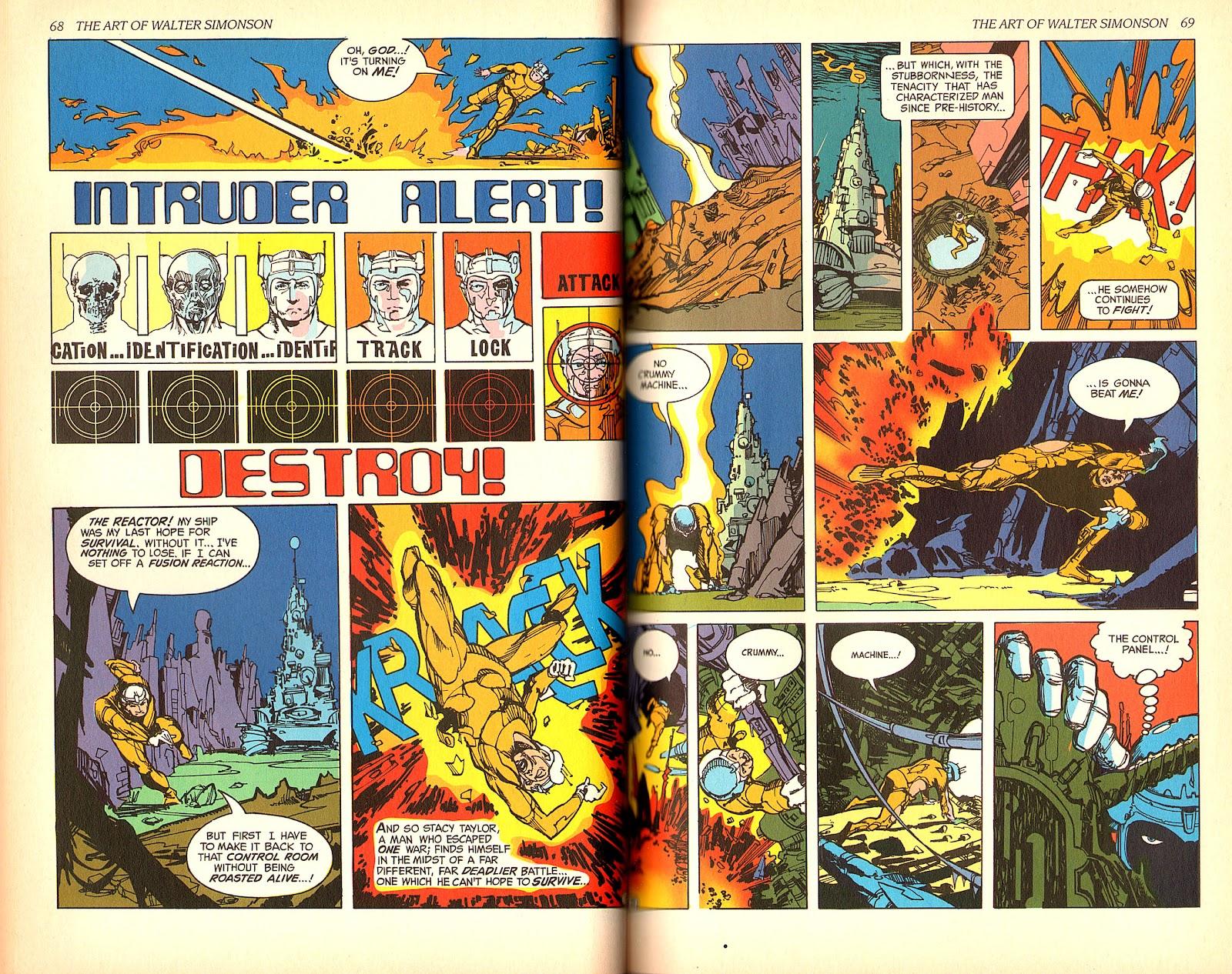 Read online The Art of Walter Simonson comic -  Issue # TPB - 36