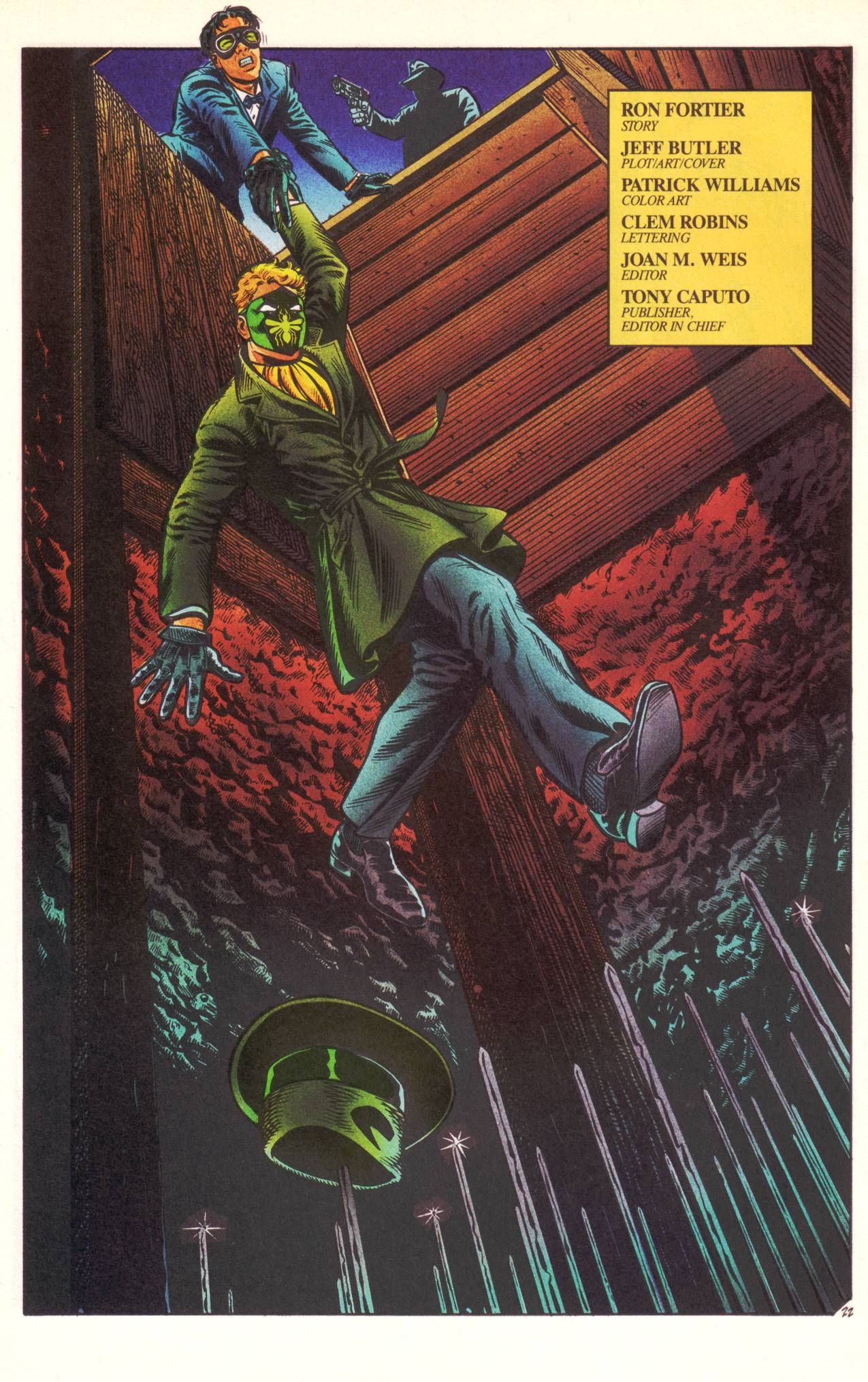 Read online Sting of The Green Hornet comic -  Issue #1 - 23