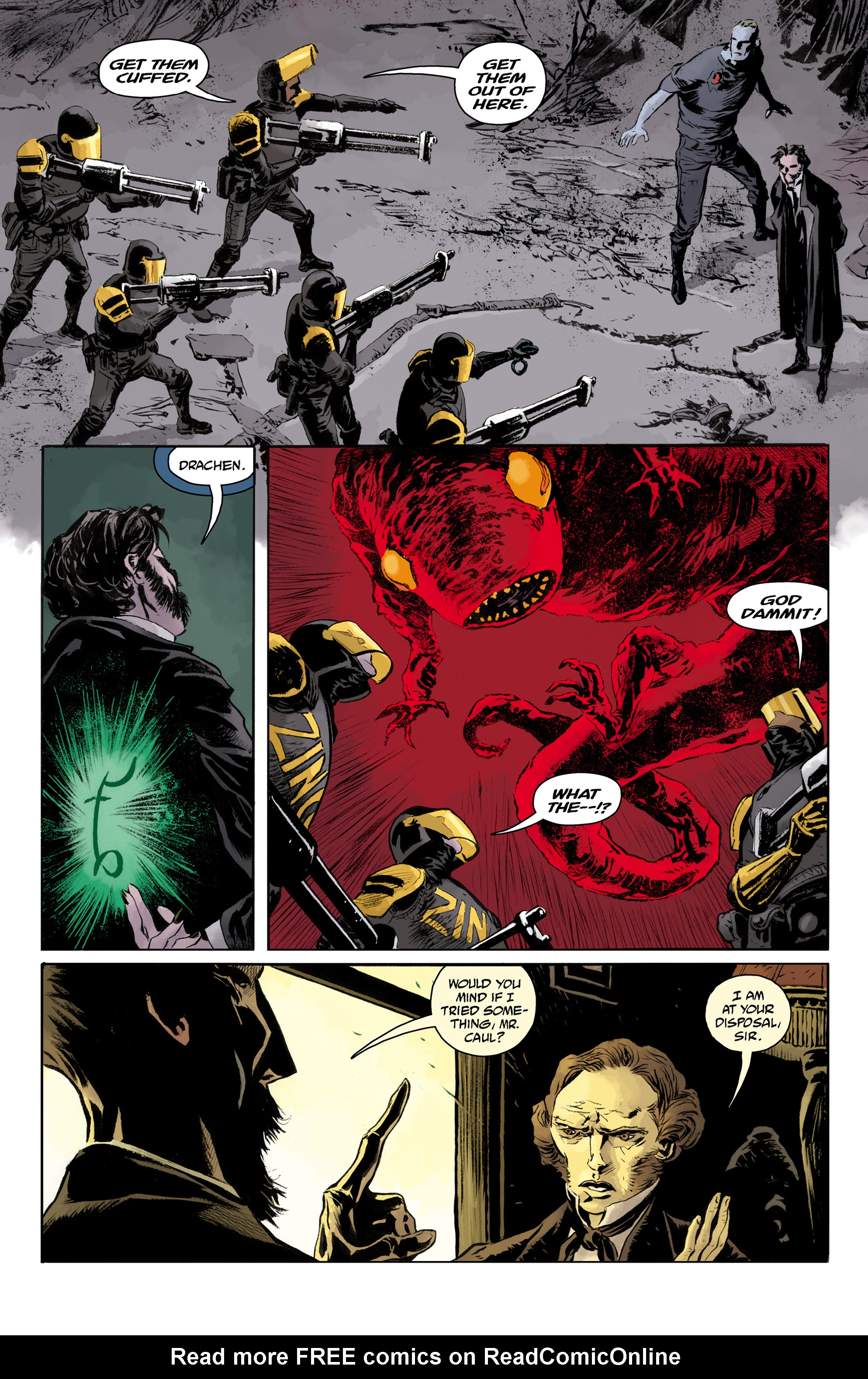 Read online Abe Sapien comic -  Issue #33 - 5