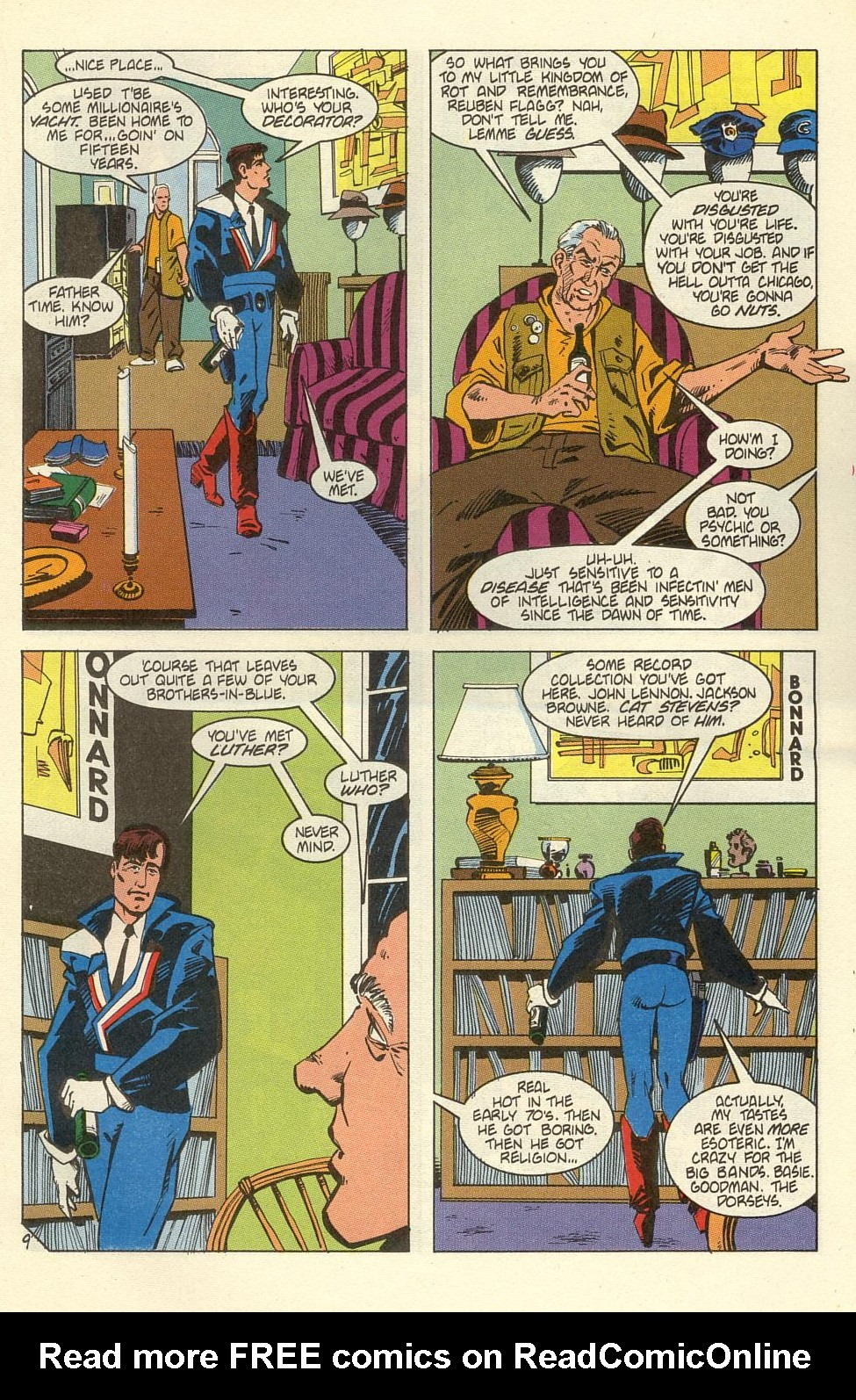 Read online American Flagg! comic -  Issue #39 - 11