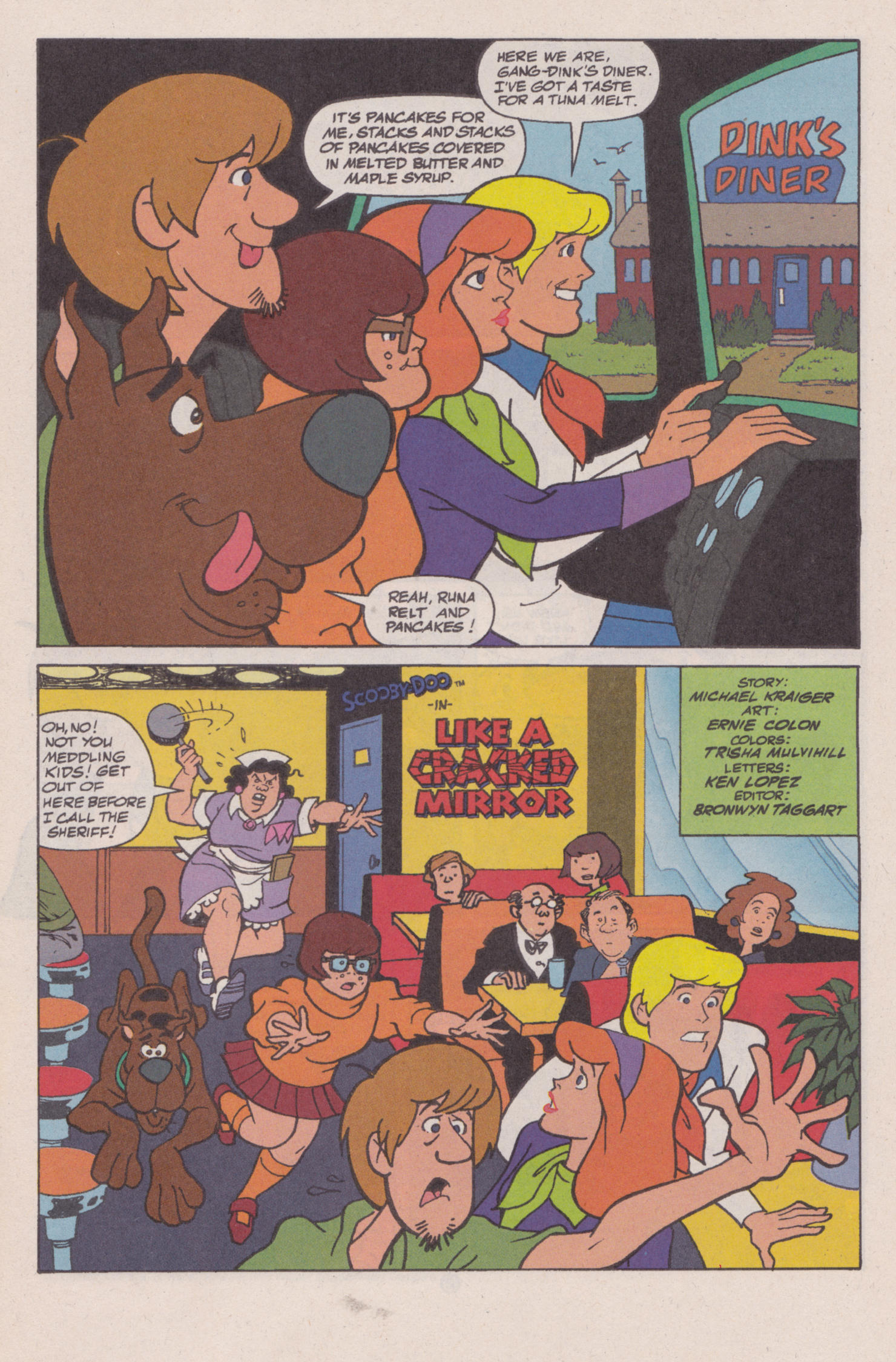 Read online Scooby-Doo (1997) comic -  Issue #8 - 2