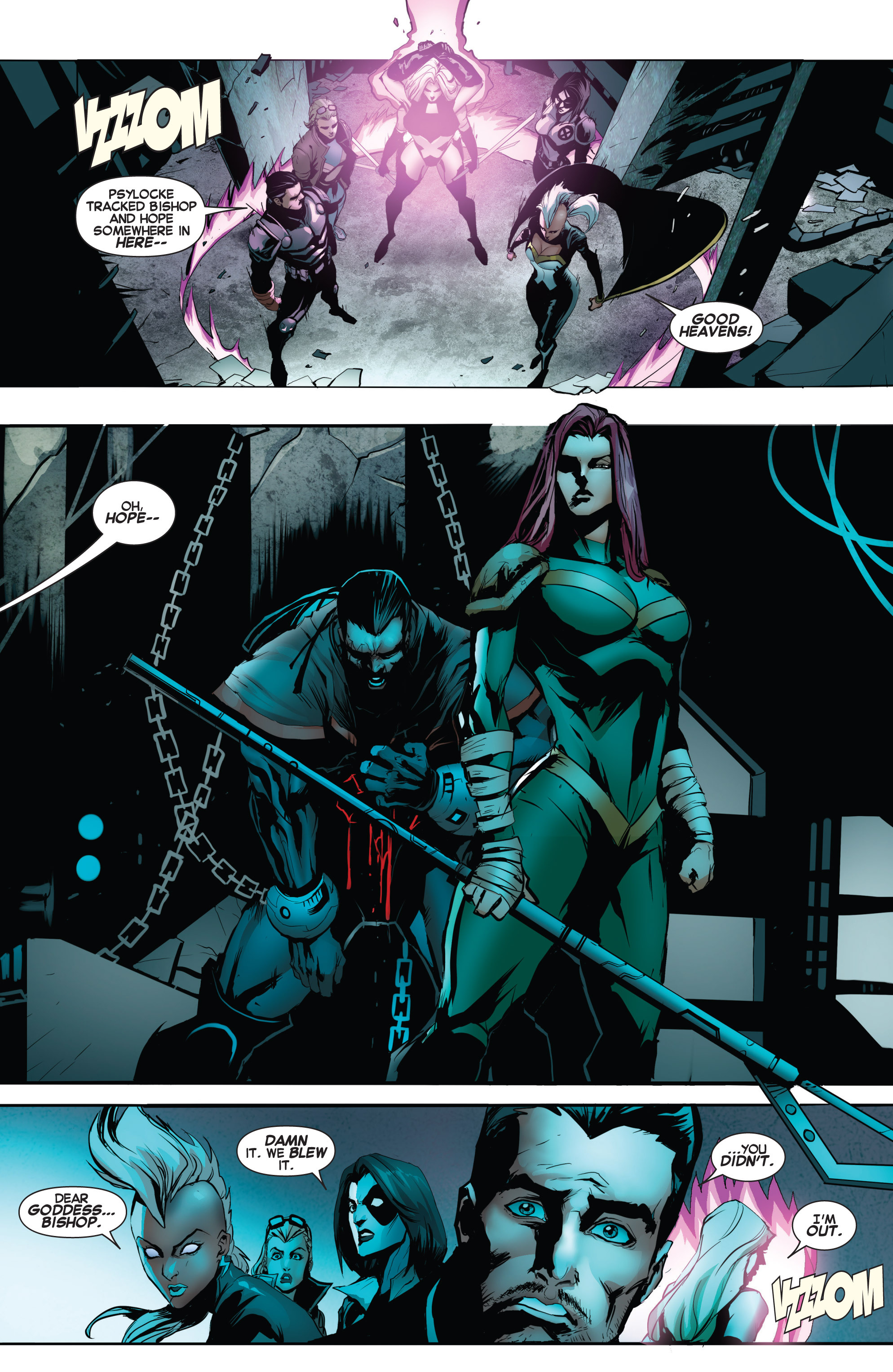 Read online Uncanny X-Force (2013) comic -  Issue #17 - 11