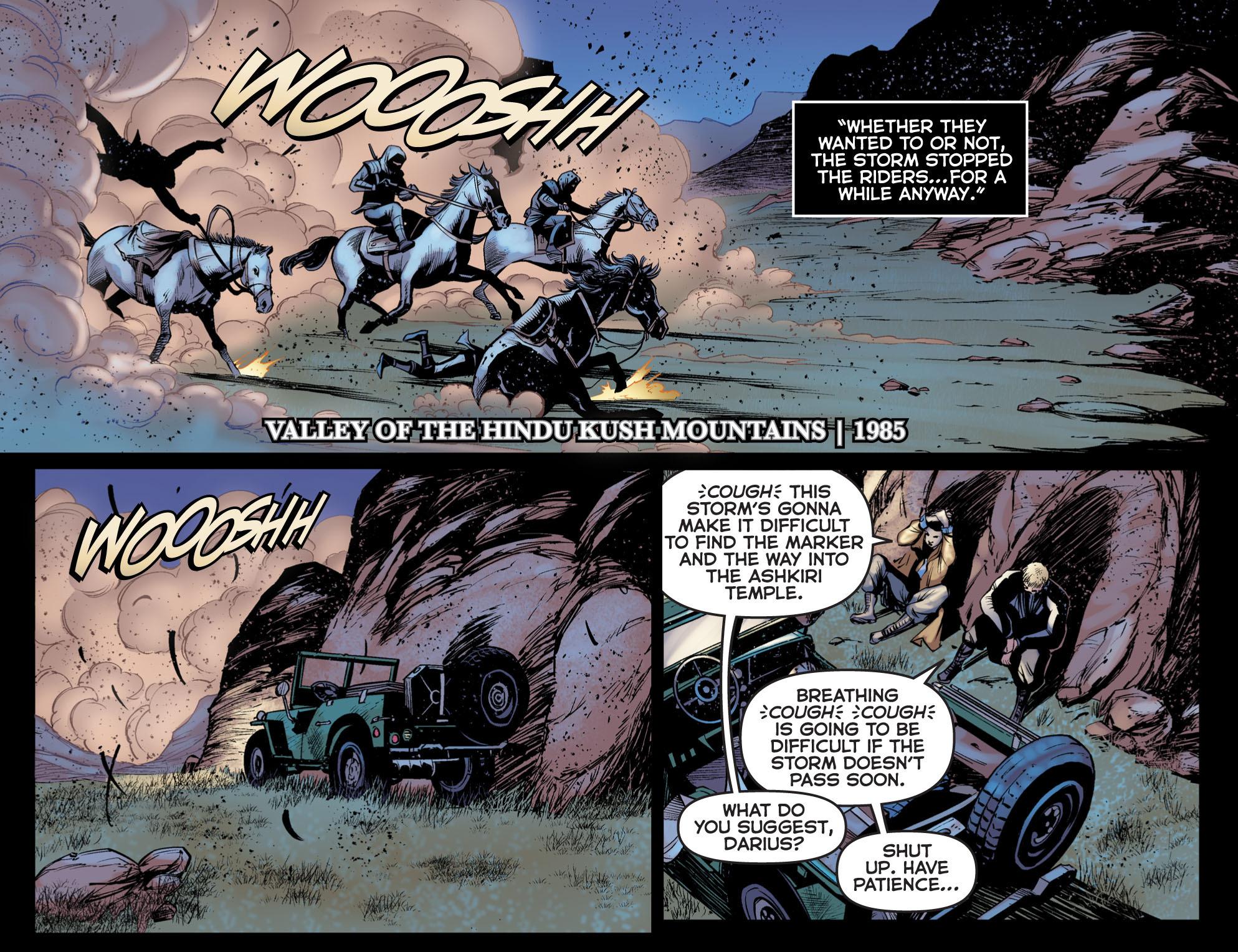 Read online Arrow: The Dark Archer comic -  Issue #5 - 7