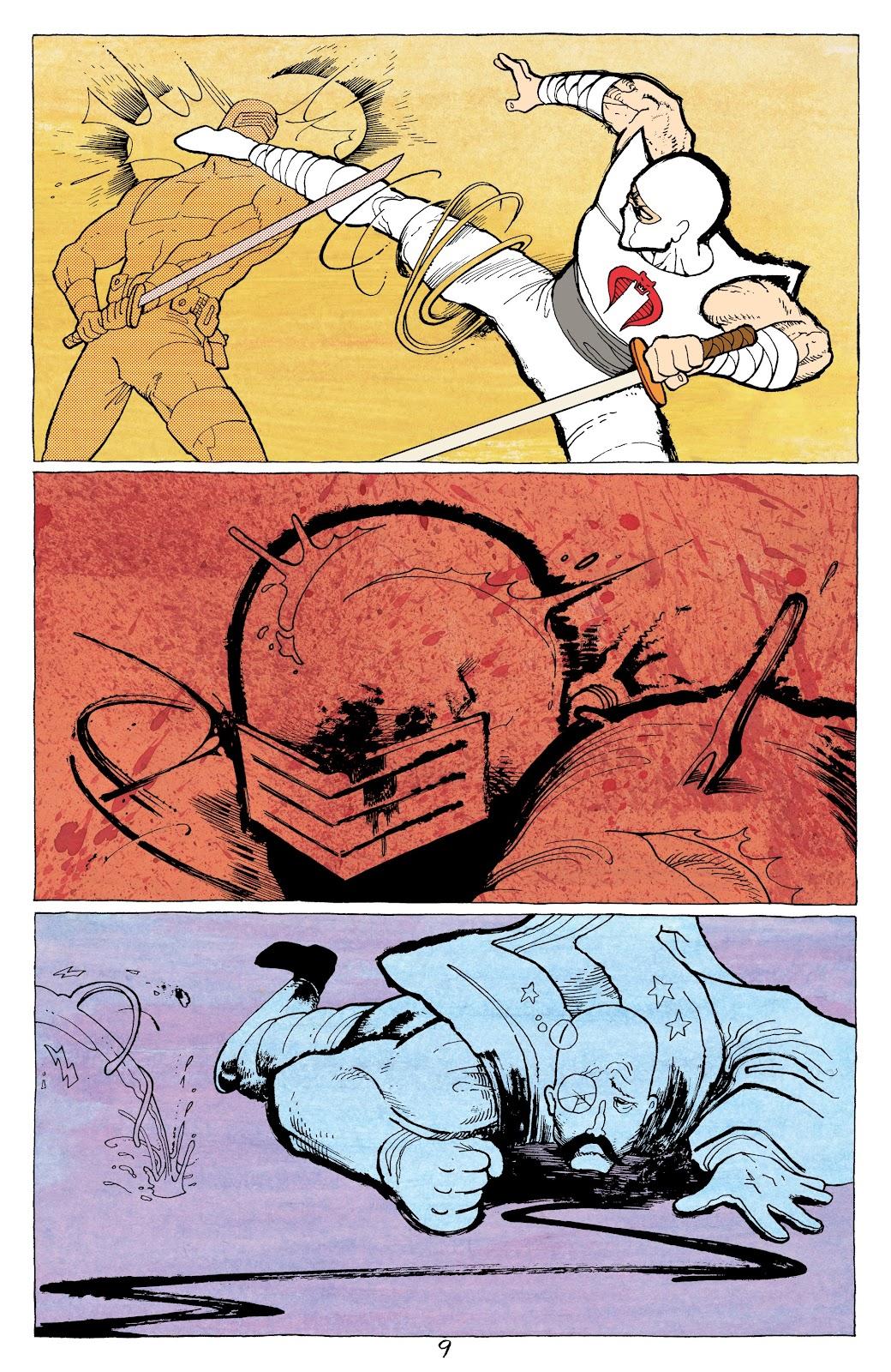Read online G.I. Joe: Sierra Muerte comic -  Issue #3 - 11