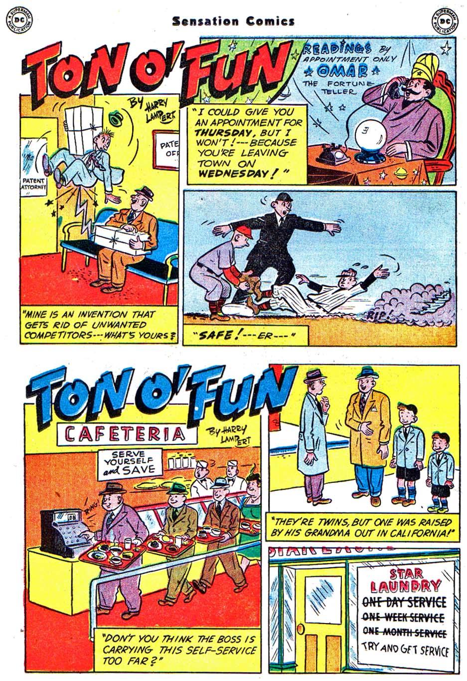 Read online Sensation (Mystery) Comics comic -  Issue #54 - 31