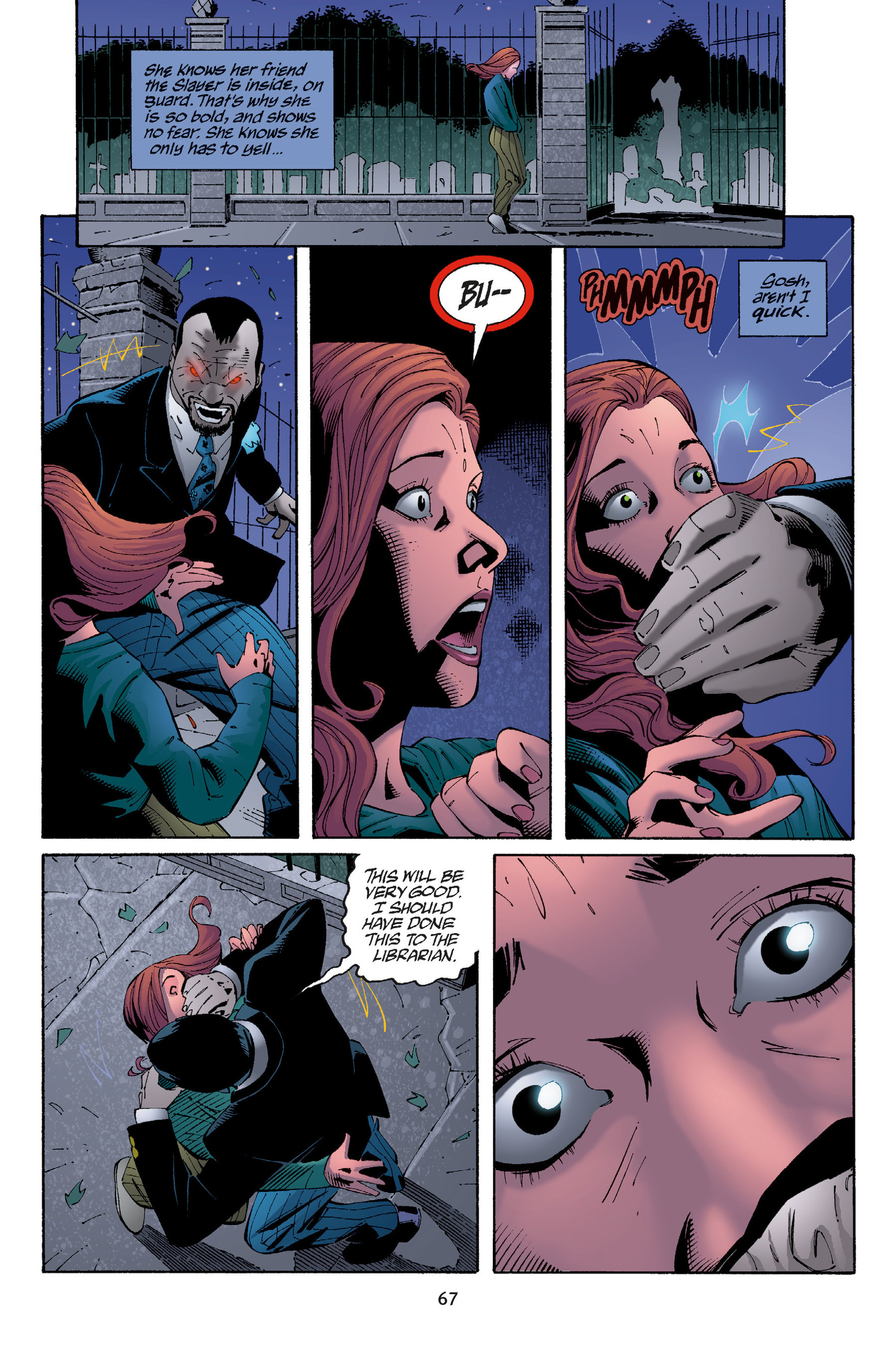 Read online Buffy the Vampire Slayer: Omnibus comic -  Issue # TPB 5 - 68