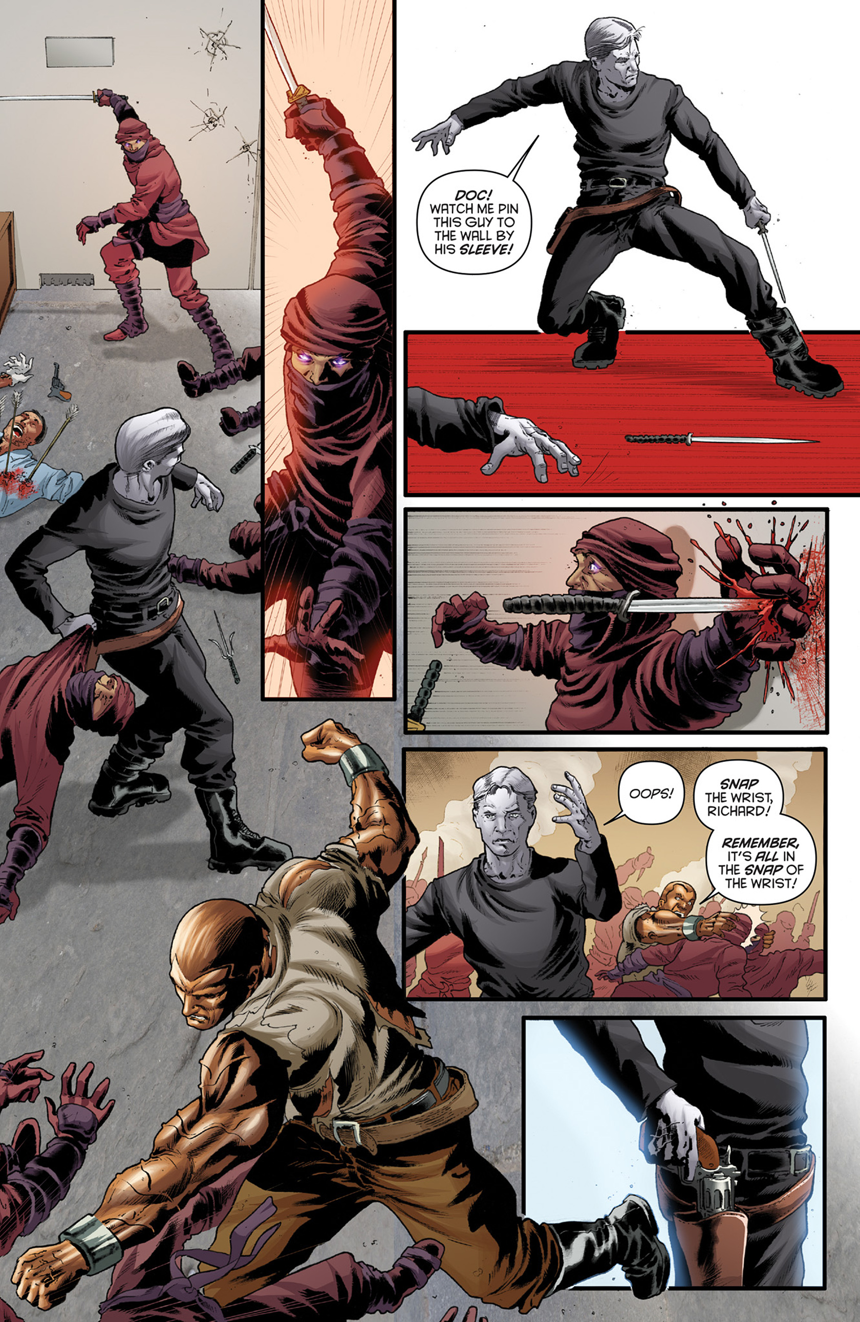 Read online Justice, Inc. comic -  Issue #4 - 6