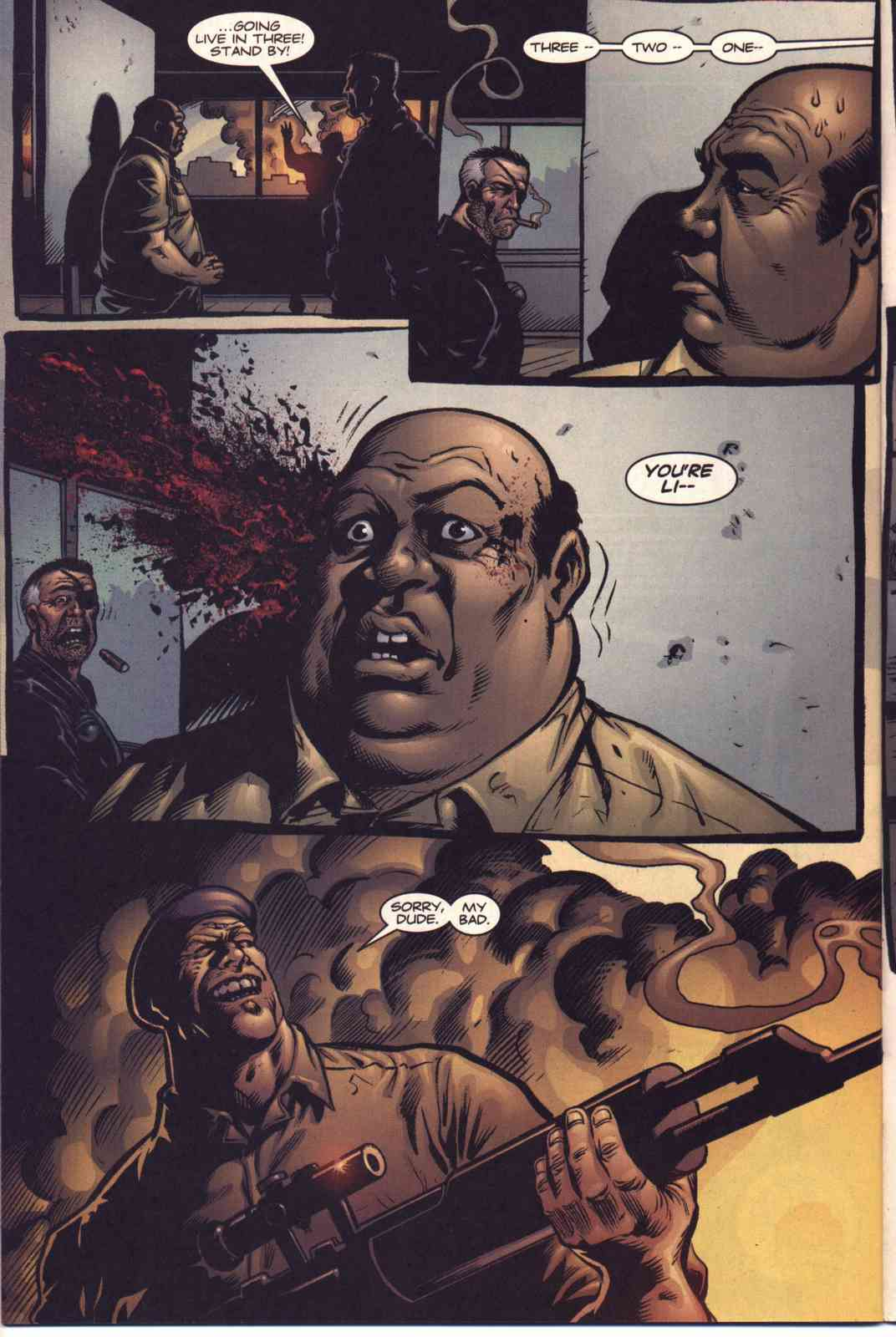 Read online Fury comic -  Issue #5 - 19