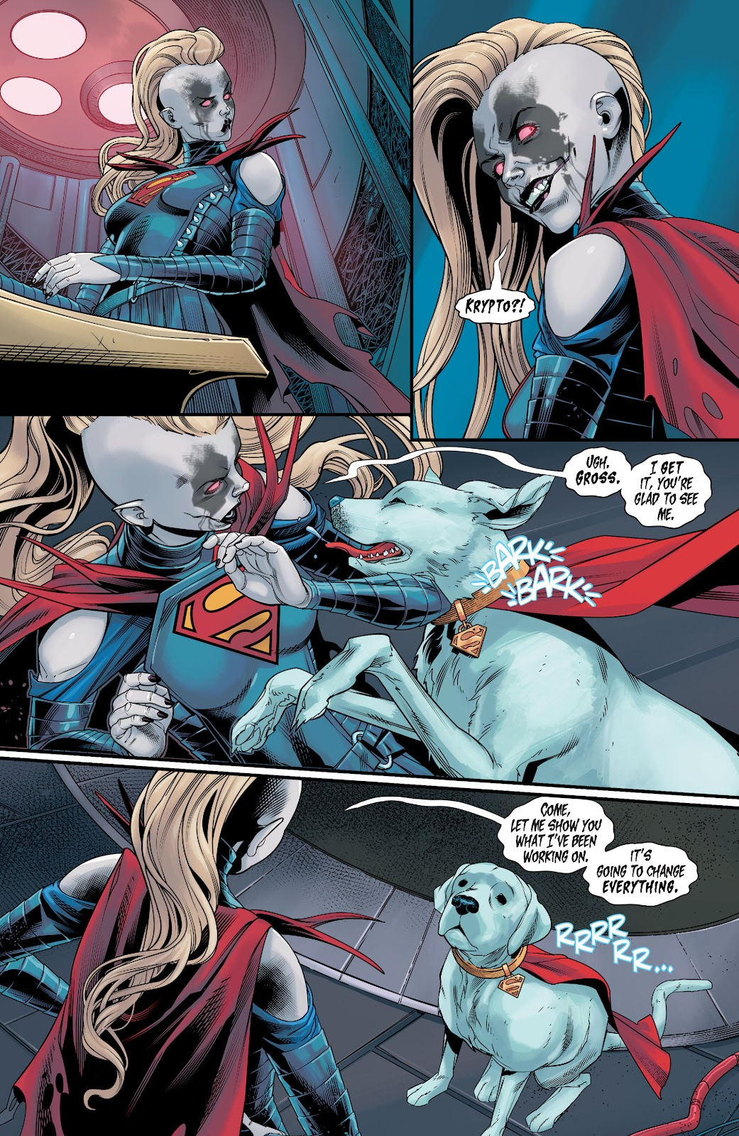 Read online Supergirl (2016) comic -  Issue #38 - 6