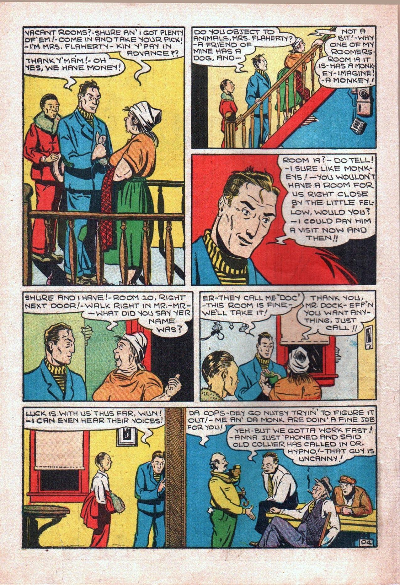 Read online Amazing Man Comics comic -  Issue #20 - 19
