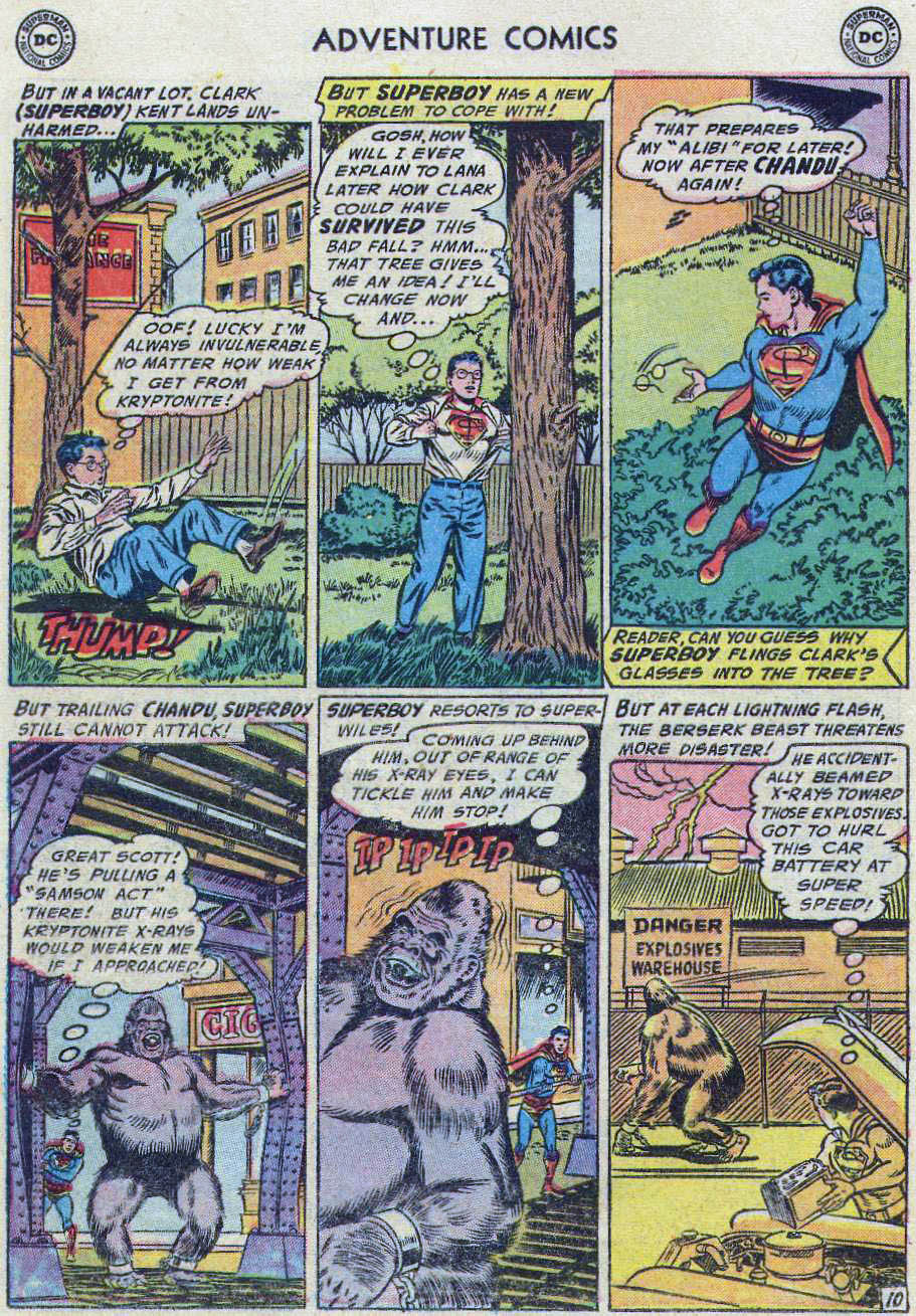 Read online Adventure Comics (1938) comic -  Issue #219 - 48