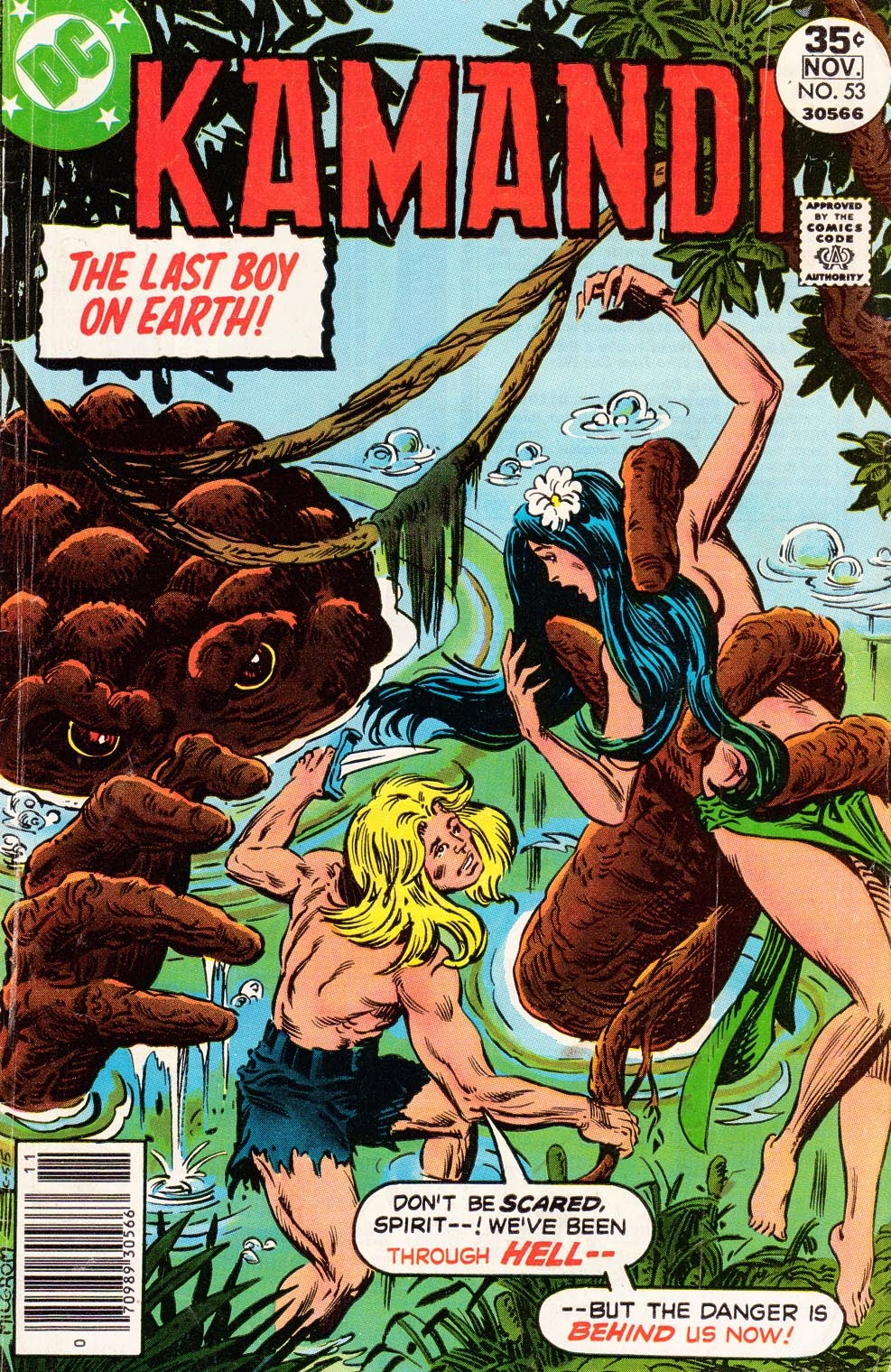 Kamandi, The Last Boy On Earth issue 53 - Page 1