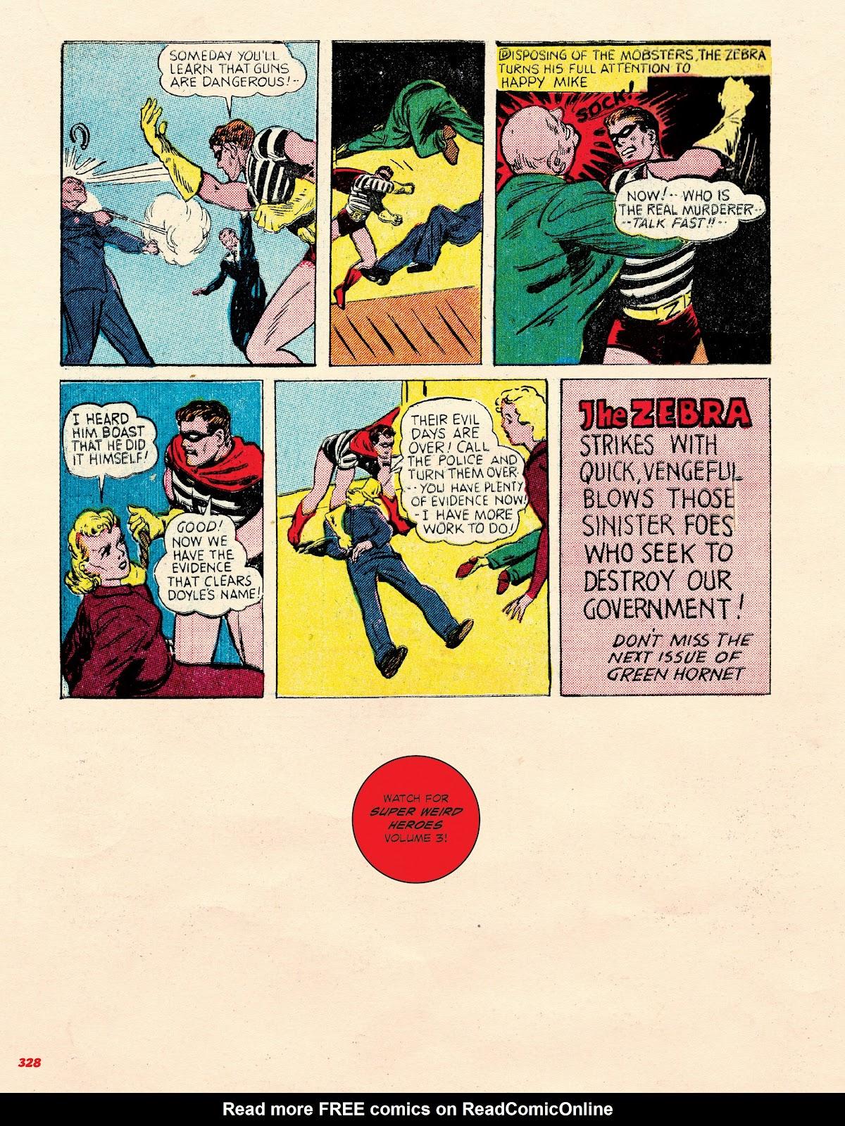 Read online Super Weird Heroes comic -  Issue # TPB 2 (Part 3) - 128