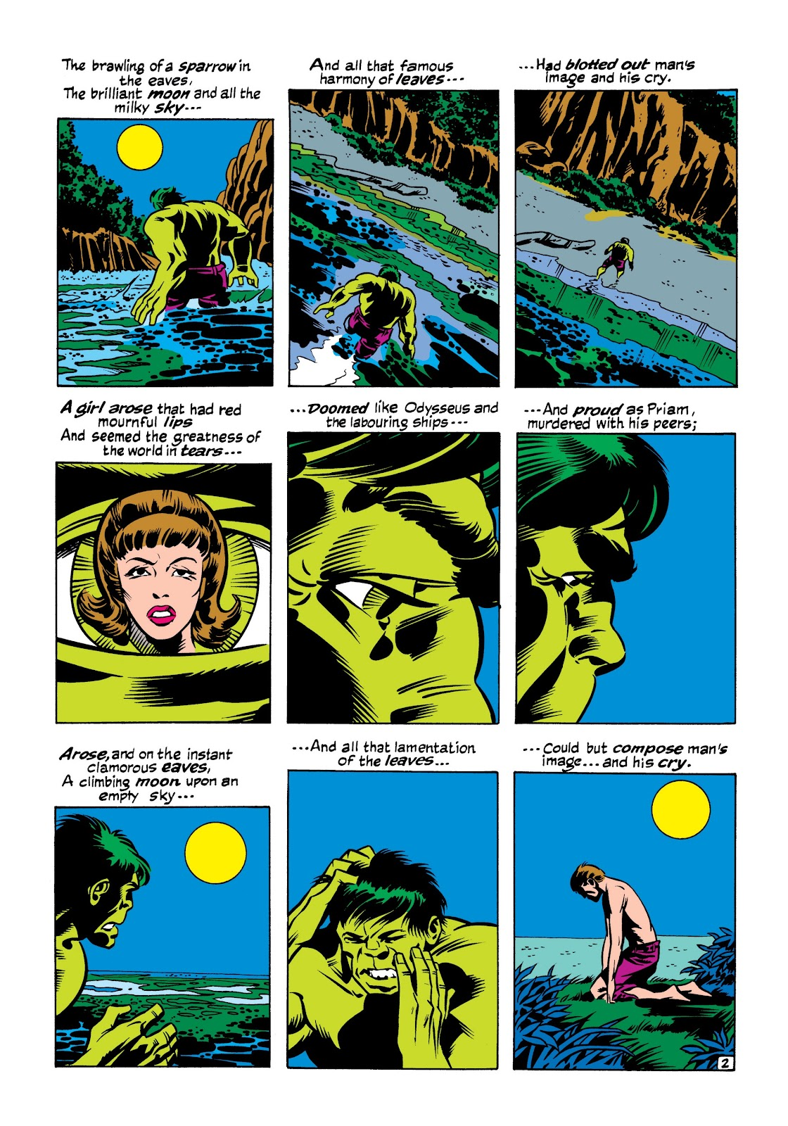 Read online Marvel Masterworks: The Incredible Hulk comic -  Issue # TPB 7 (Part 1) - 69