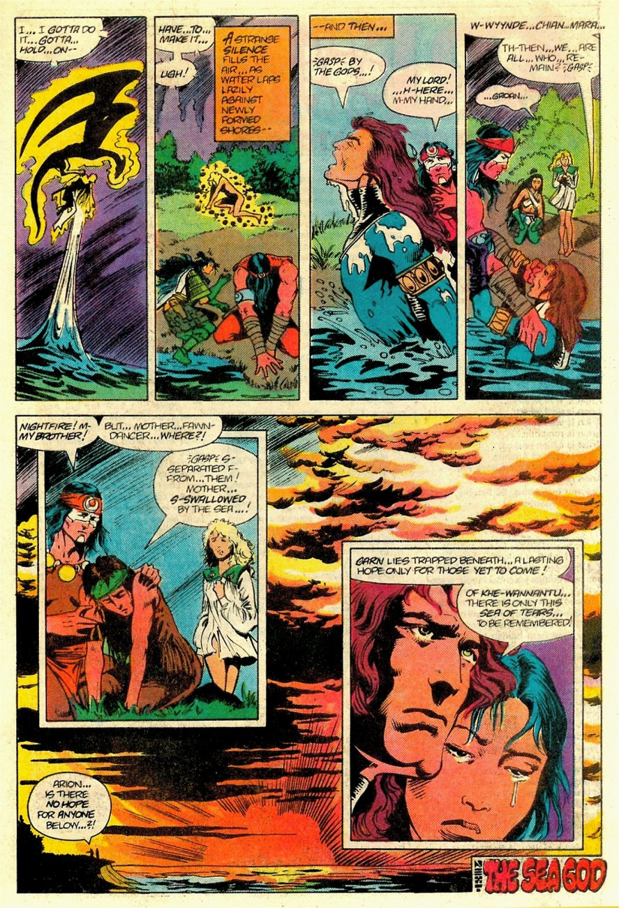 Read online Arion, Lord of Atlantis comic -  Issue #18 - 24