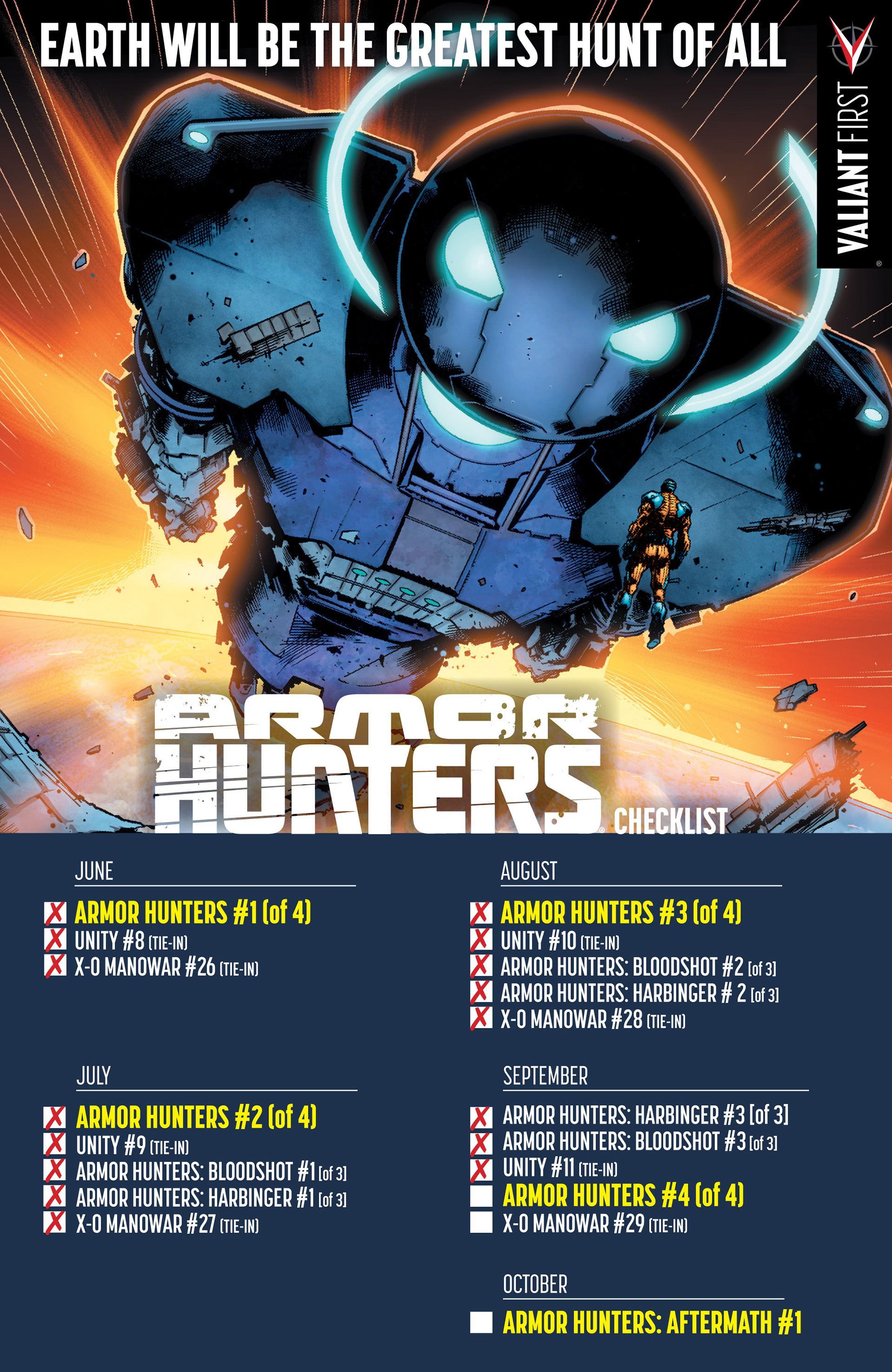Read online Armor Hunters: Bloodshot comic -  Issue #3 - 26