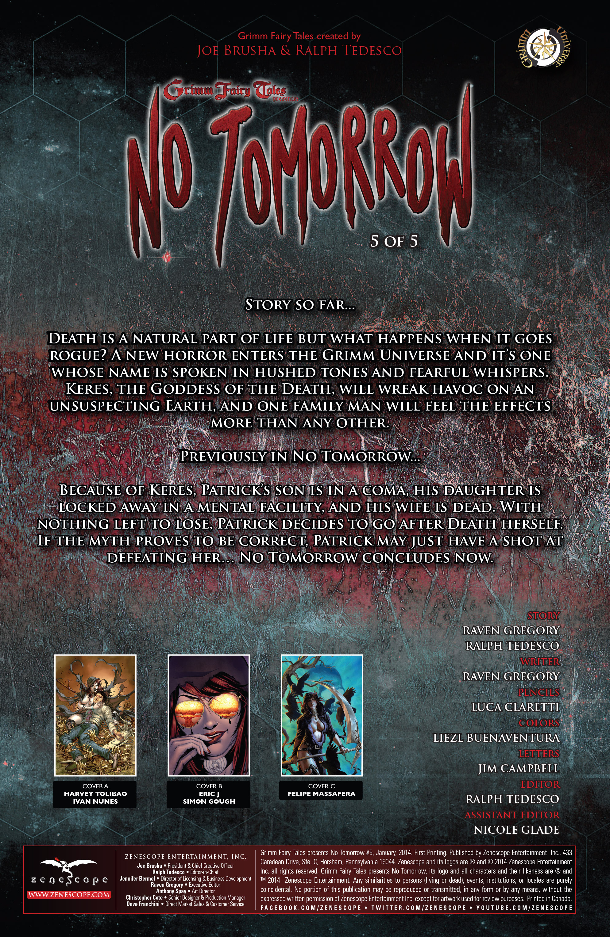 Read online Grimm Fairy Tales presents No Tomorrow comic -  Issue # TPB - 96