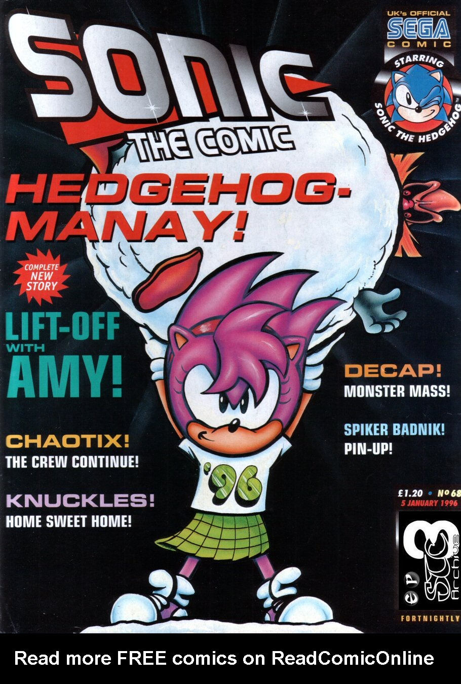 Read online Sonic the Comic comic -  Issue #68 - 1