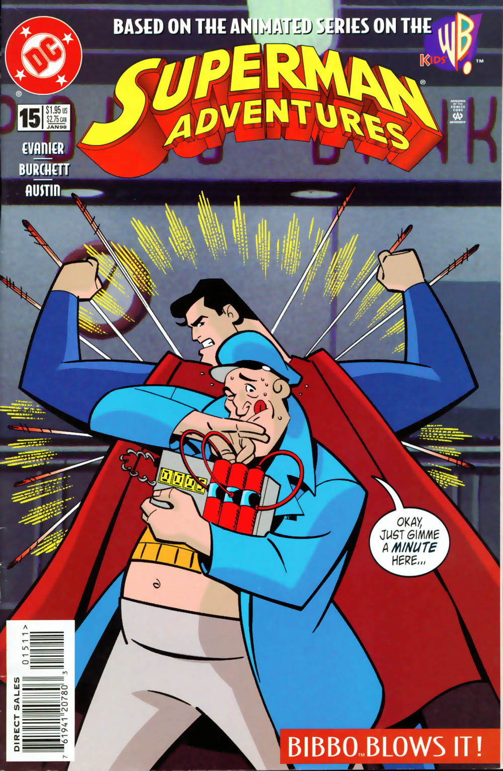 Superman Adventure (1996-2002) issue 15 - Page 1