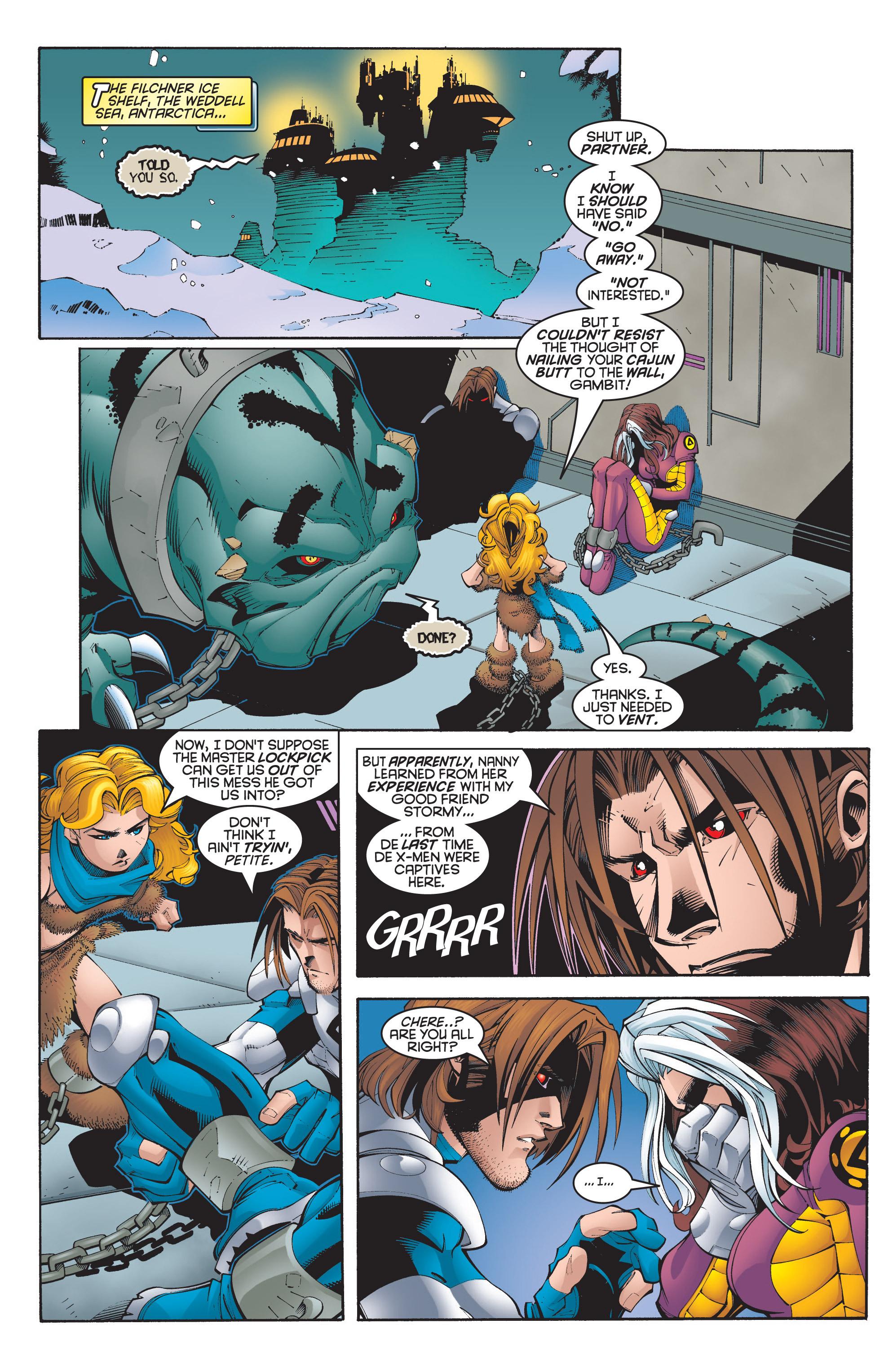 Read online Uncanny X-Men (1963) comic -  Issue #348 - 8