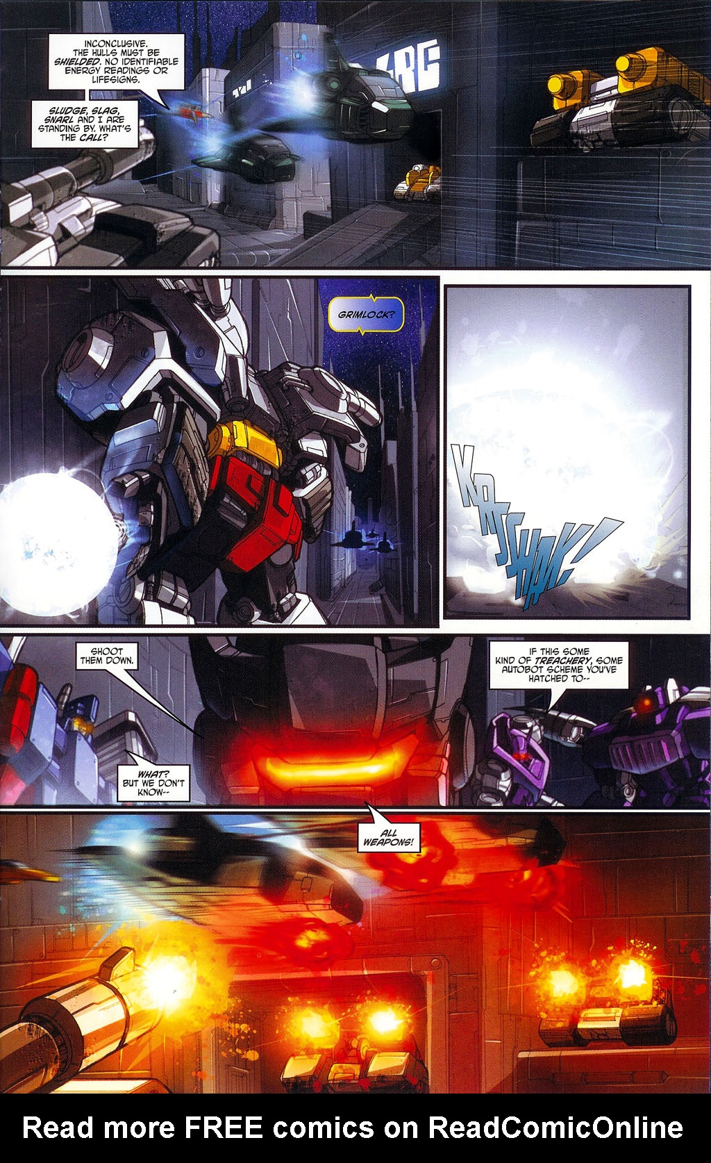 """Read online Transformers War Within: """"The Age of Wrath"""" comic -  Issue #1 - 16"""
