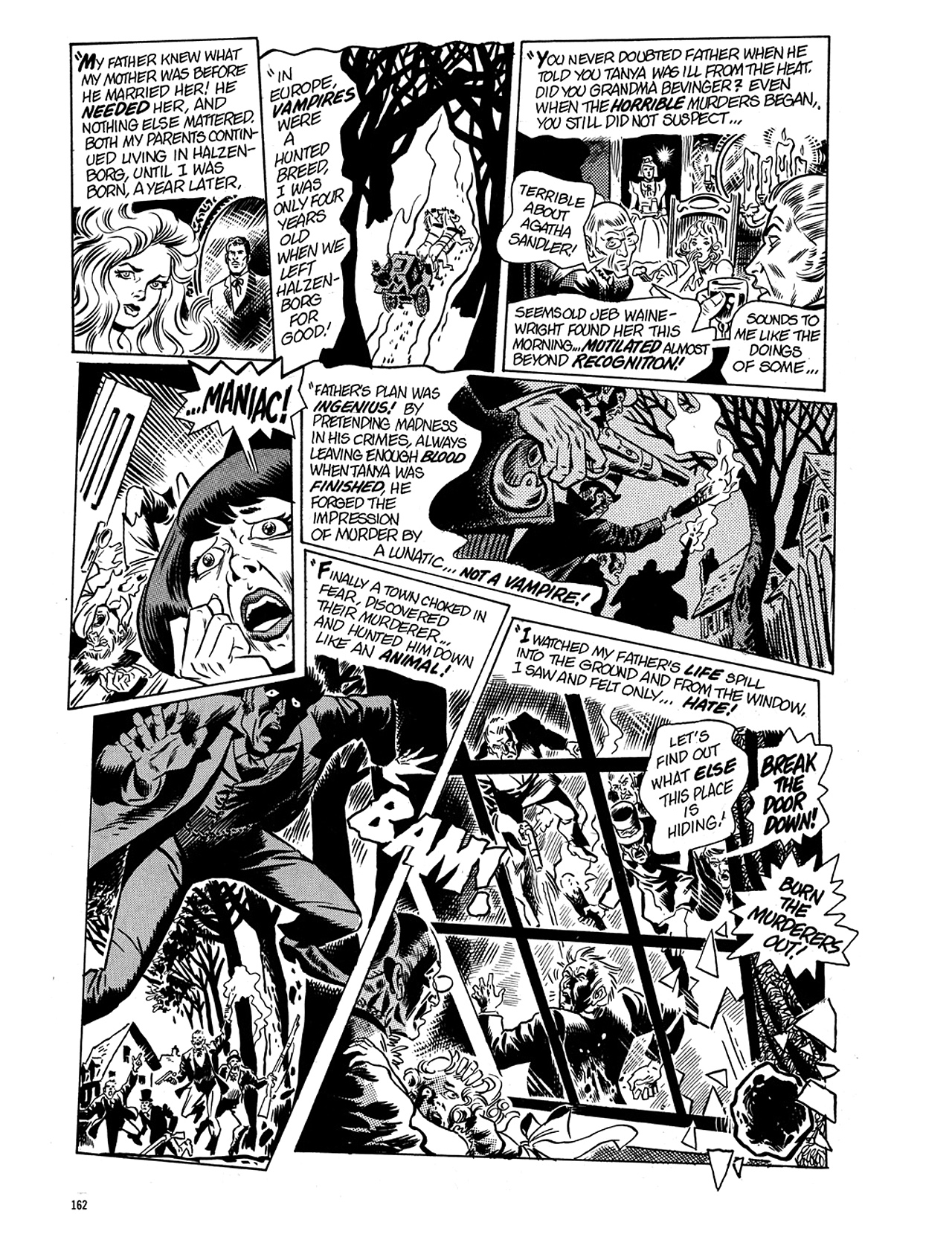 Read online Eerie Archives comic -  Issue # TPB 5 - 163