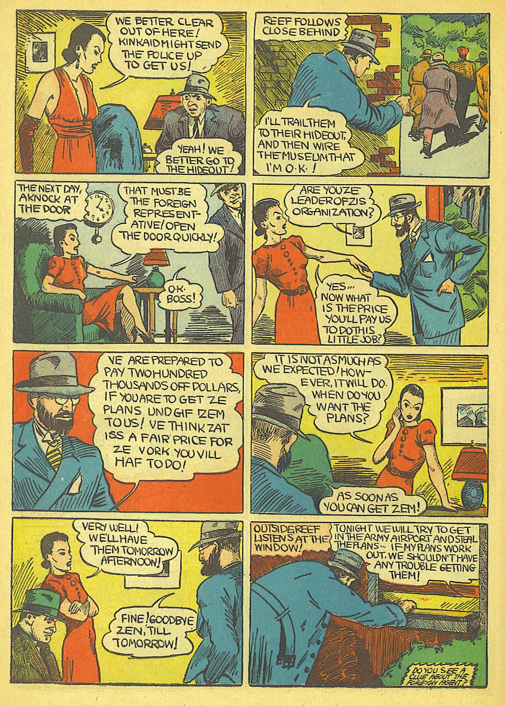 Read online Amazing Man Comics comic -  Issue #19 - 56
