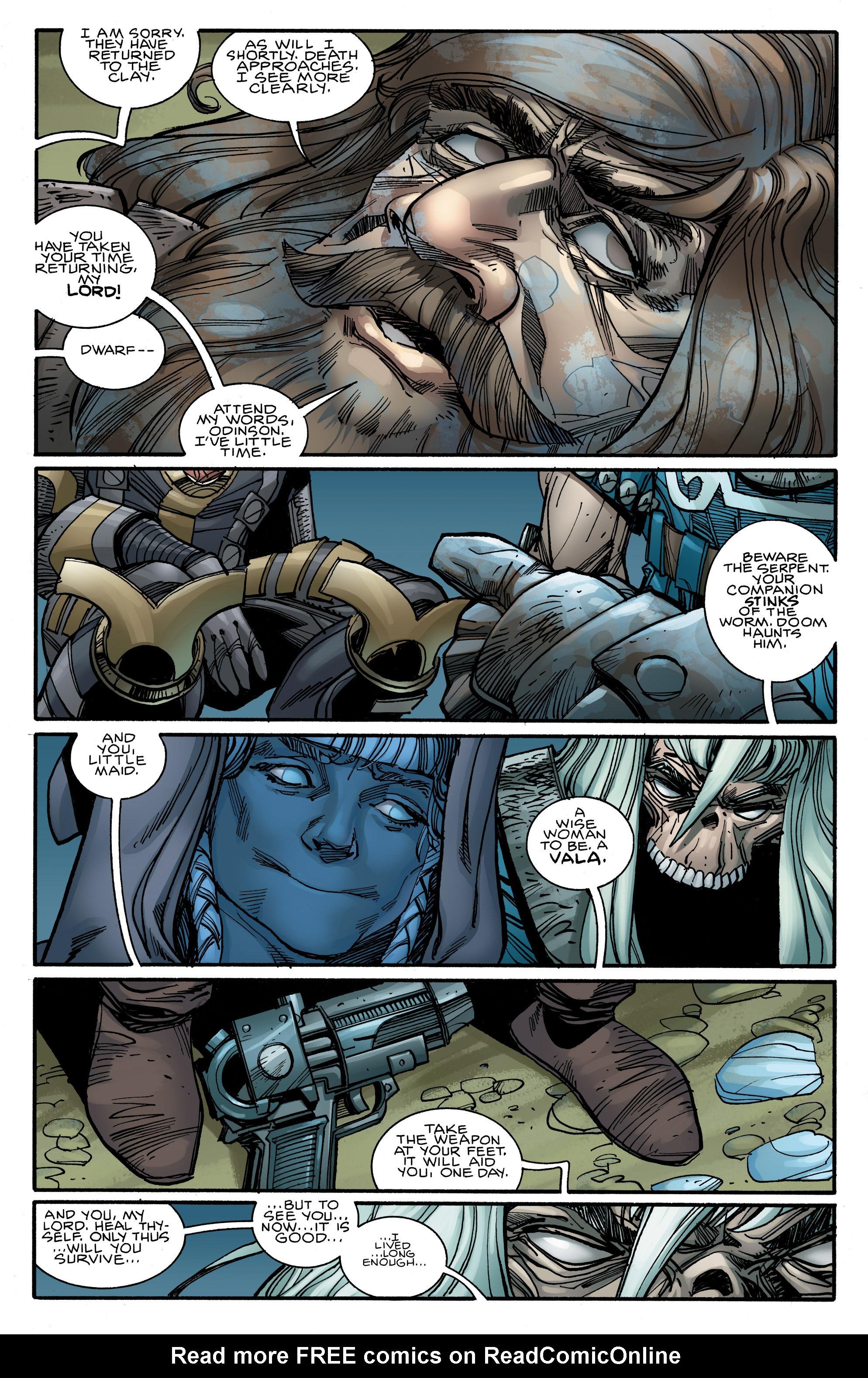 Read online Ragnarok comic -  Issue #10 - 8