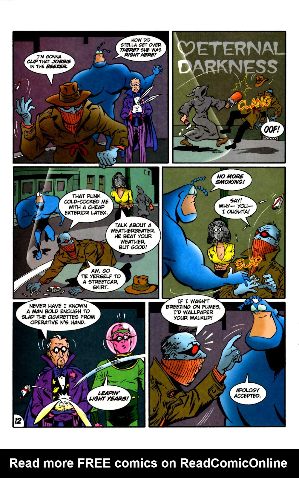 Read online The Tick: Days of Drama comic -  Issue #2 - 14