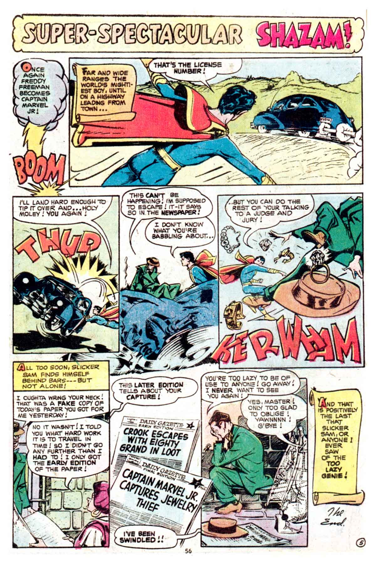Read online Shazam! (1973) comic -  Issue #16 - 56