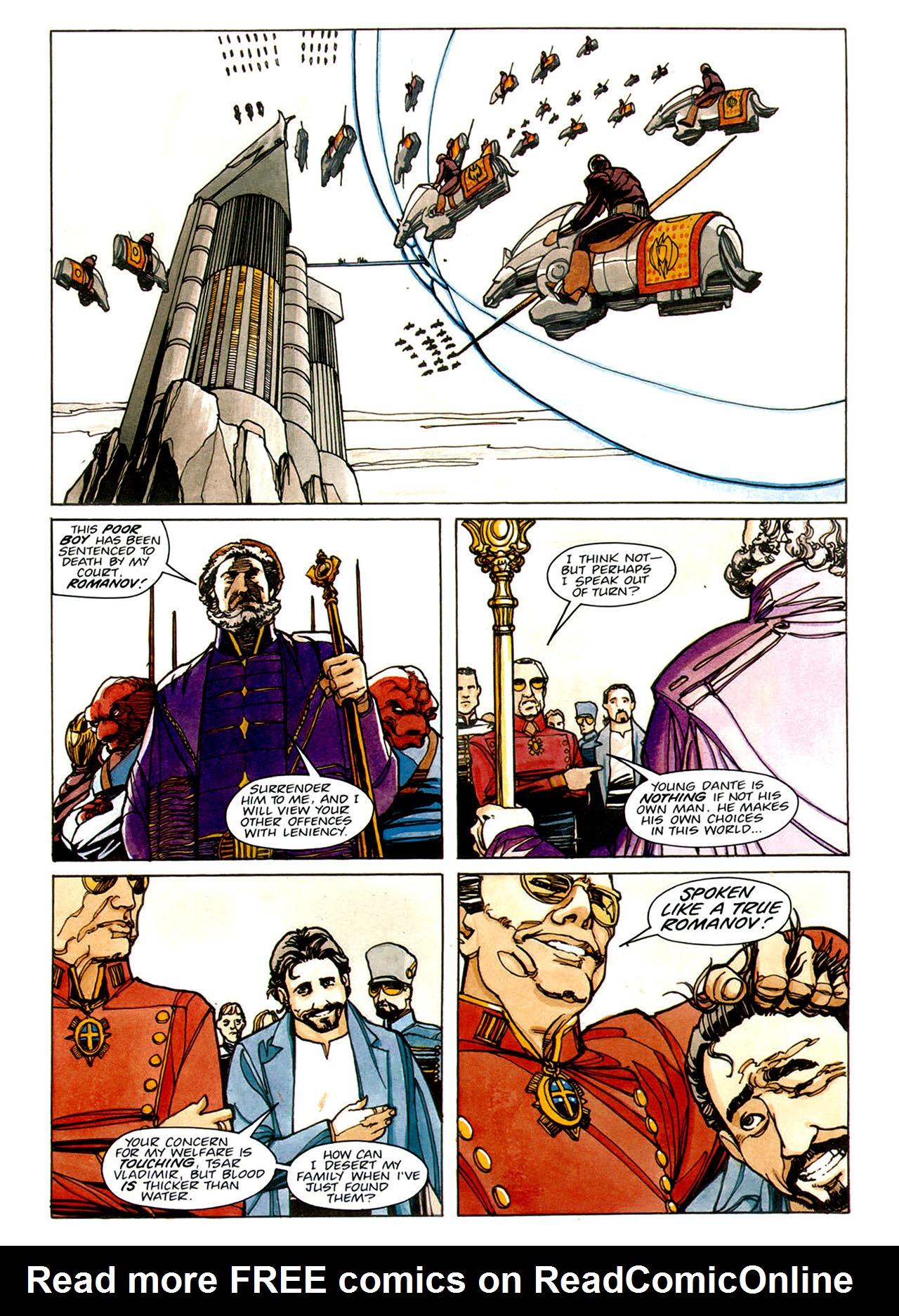 Read online Nikolai Dante comic -  Issue # TPB 1 - 53