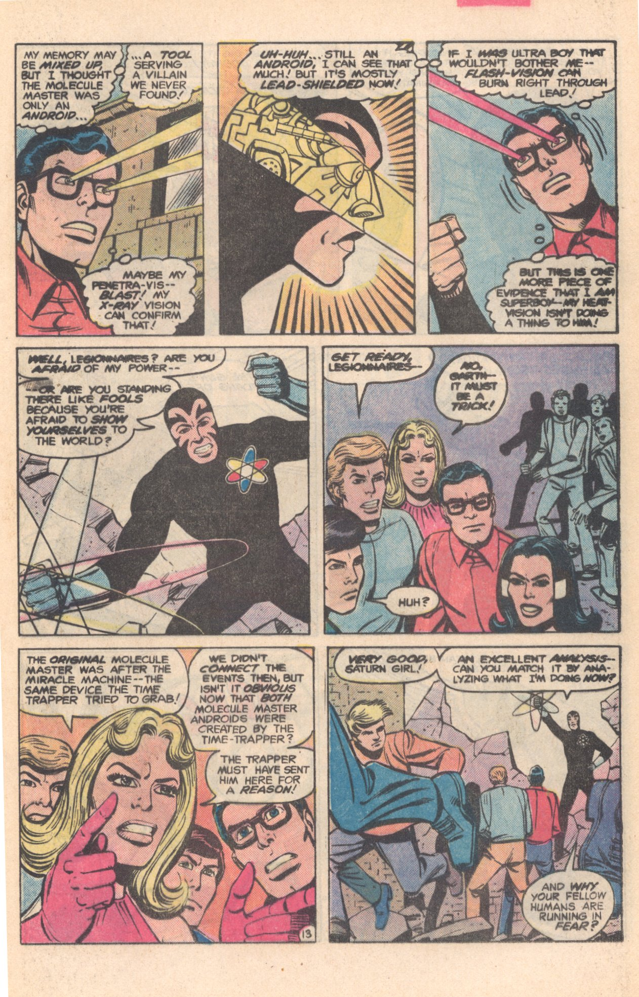 Legion of Super-Heroes (1980) 281 Page 13