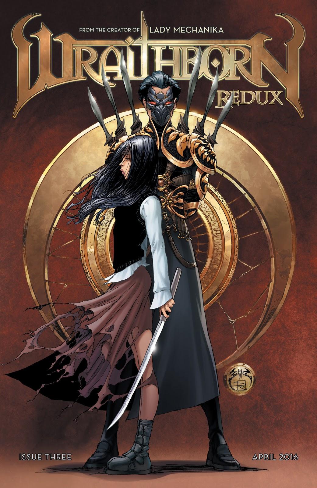 Wraithborn Redux 3 Page 1