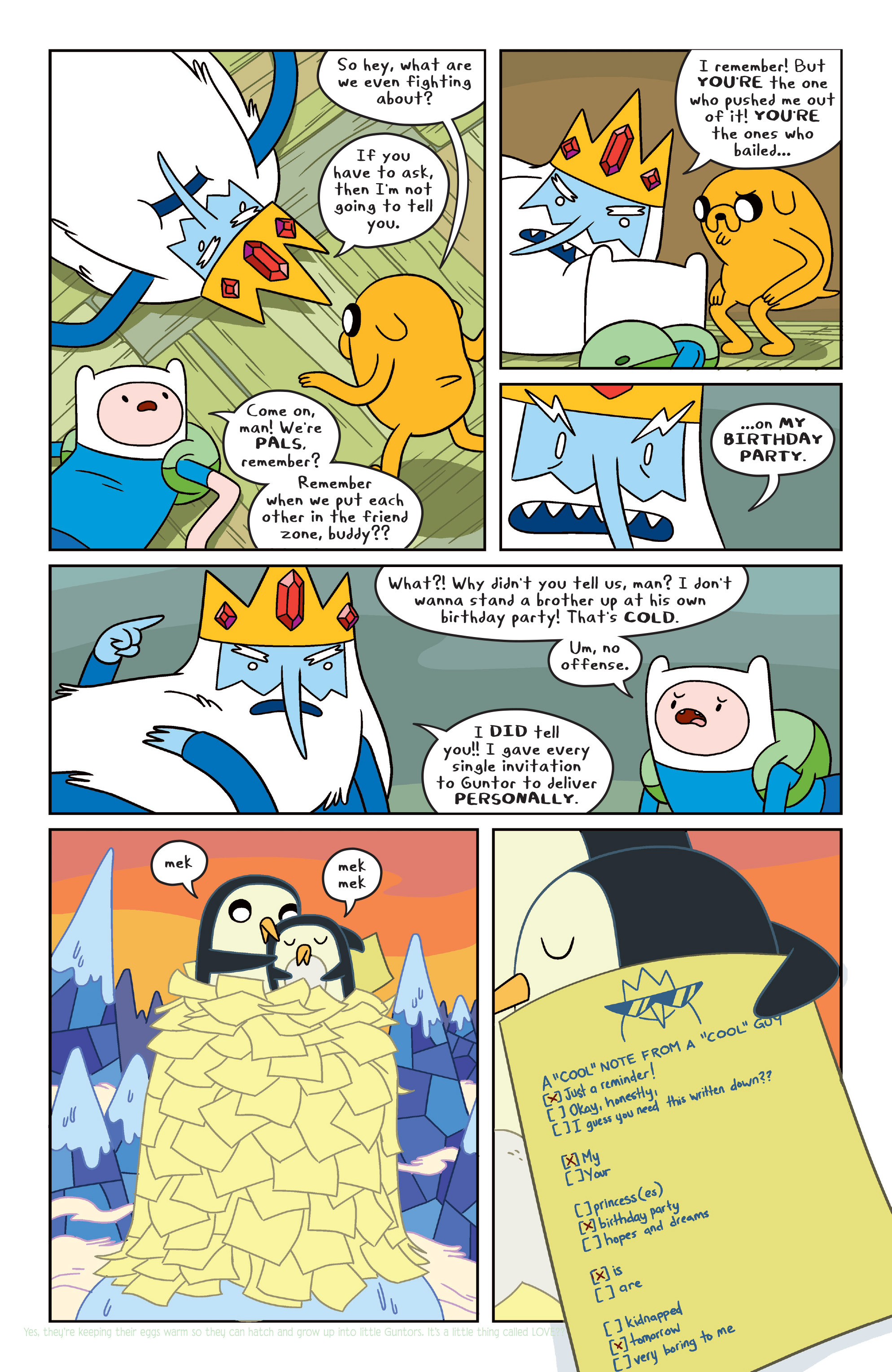 Read online Adventure Time comic -  Issue #31 - 12