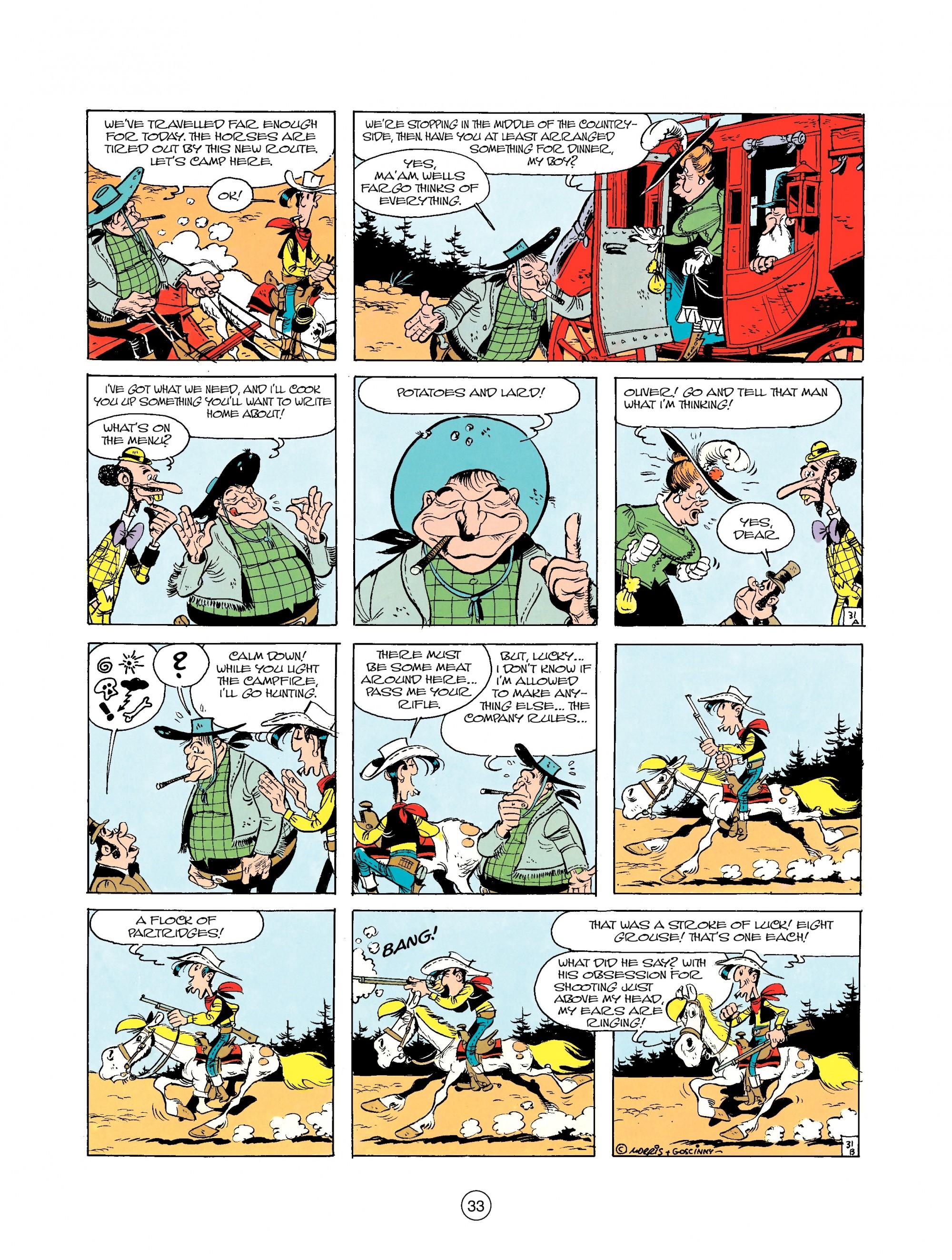 Read online A Lucky Luke Adventure comic -  Issue #25 - 33