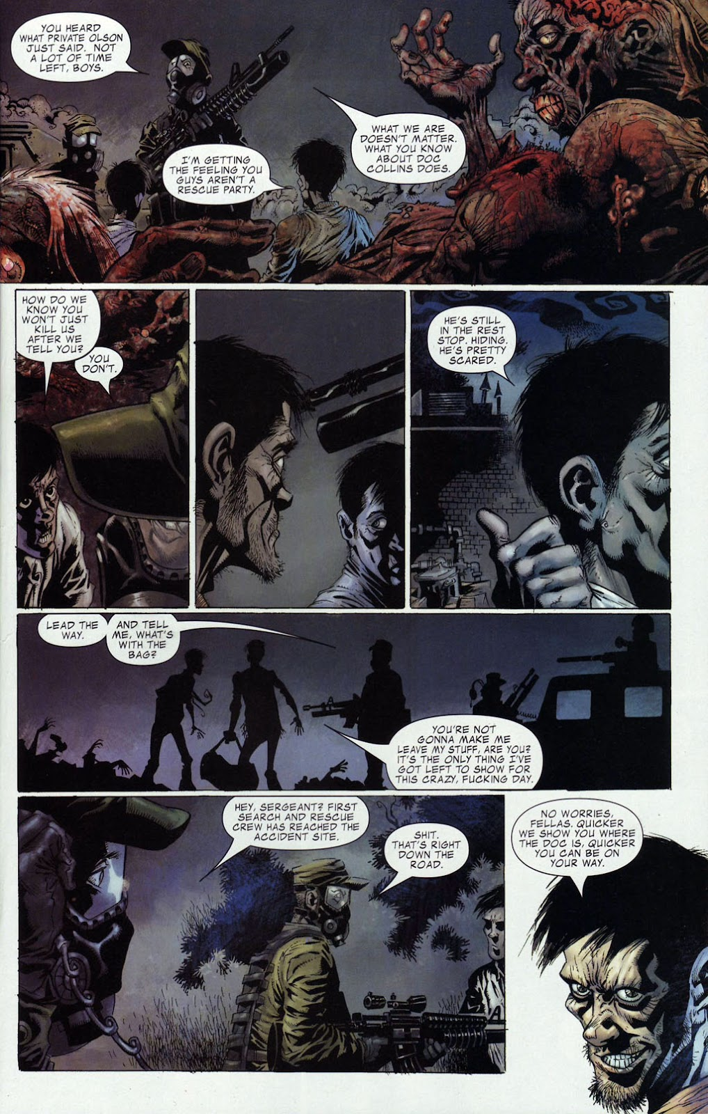 Read online Zombie (2006) comic -  Issue #4 - 4