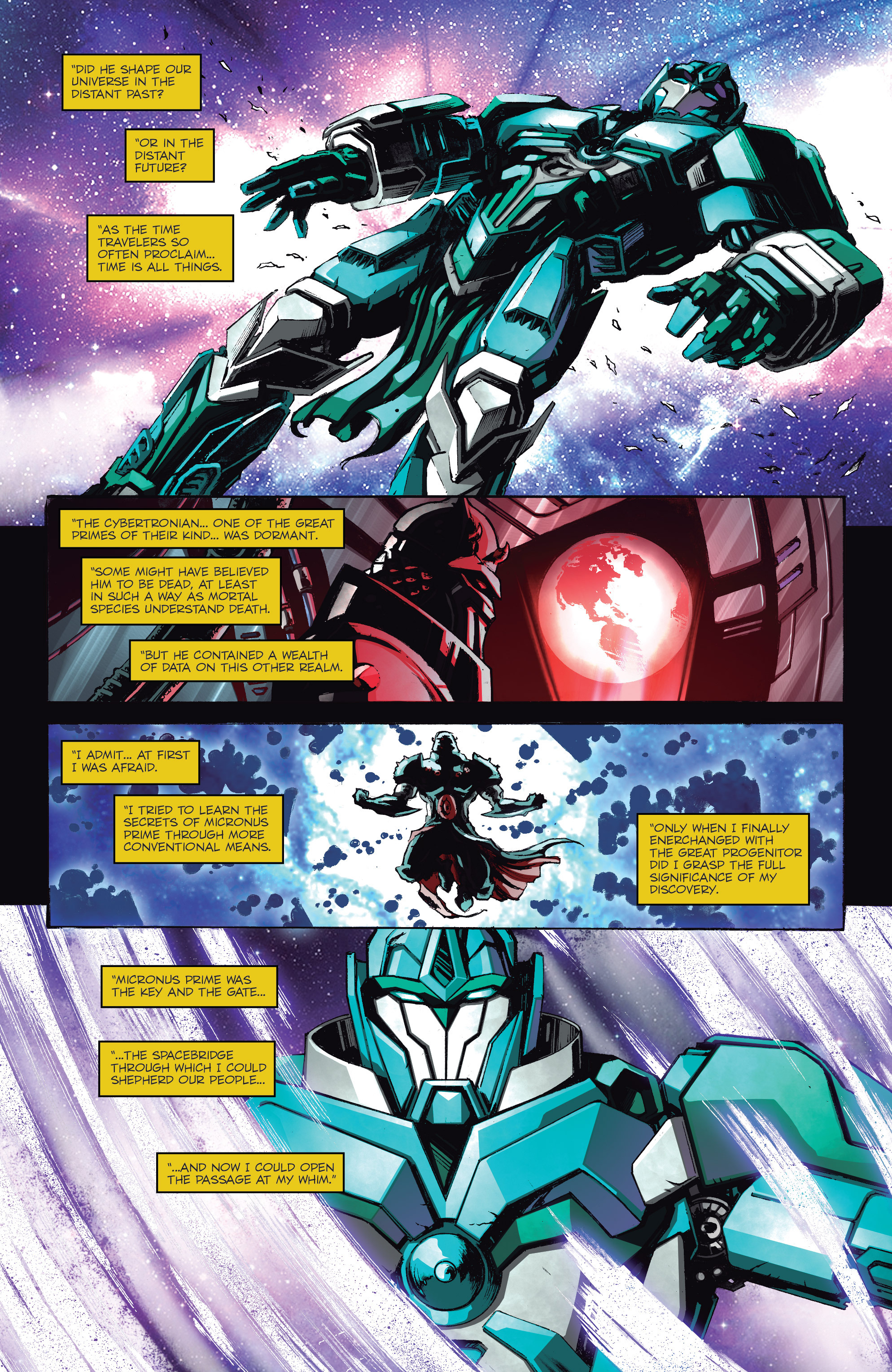 Read online Micronauts: Wrath of Karza comic -  Issue #1 - 20