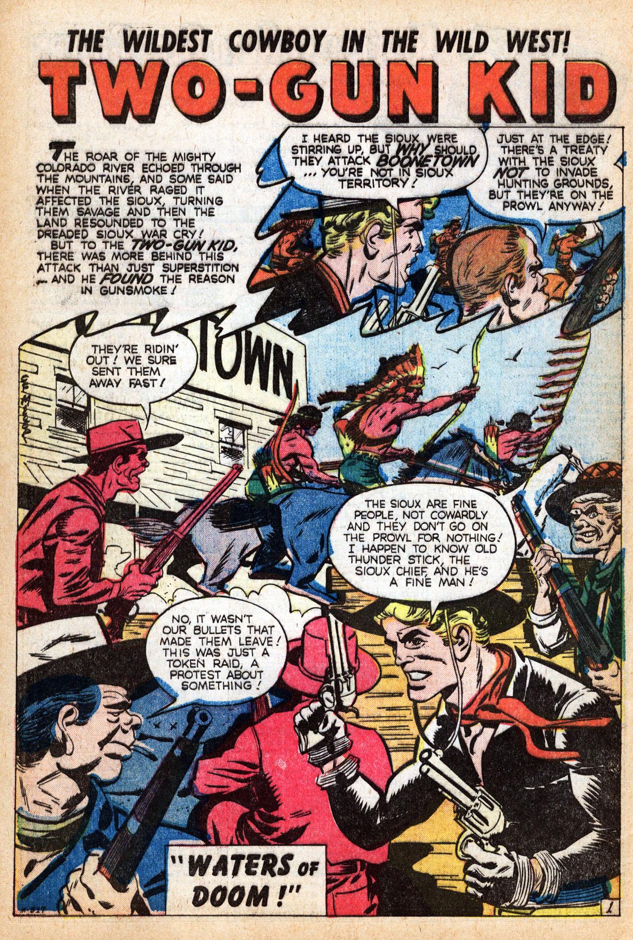 Read online Two-Gun Kid comic -  Issue #39 - 27