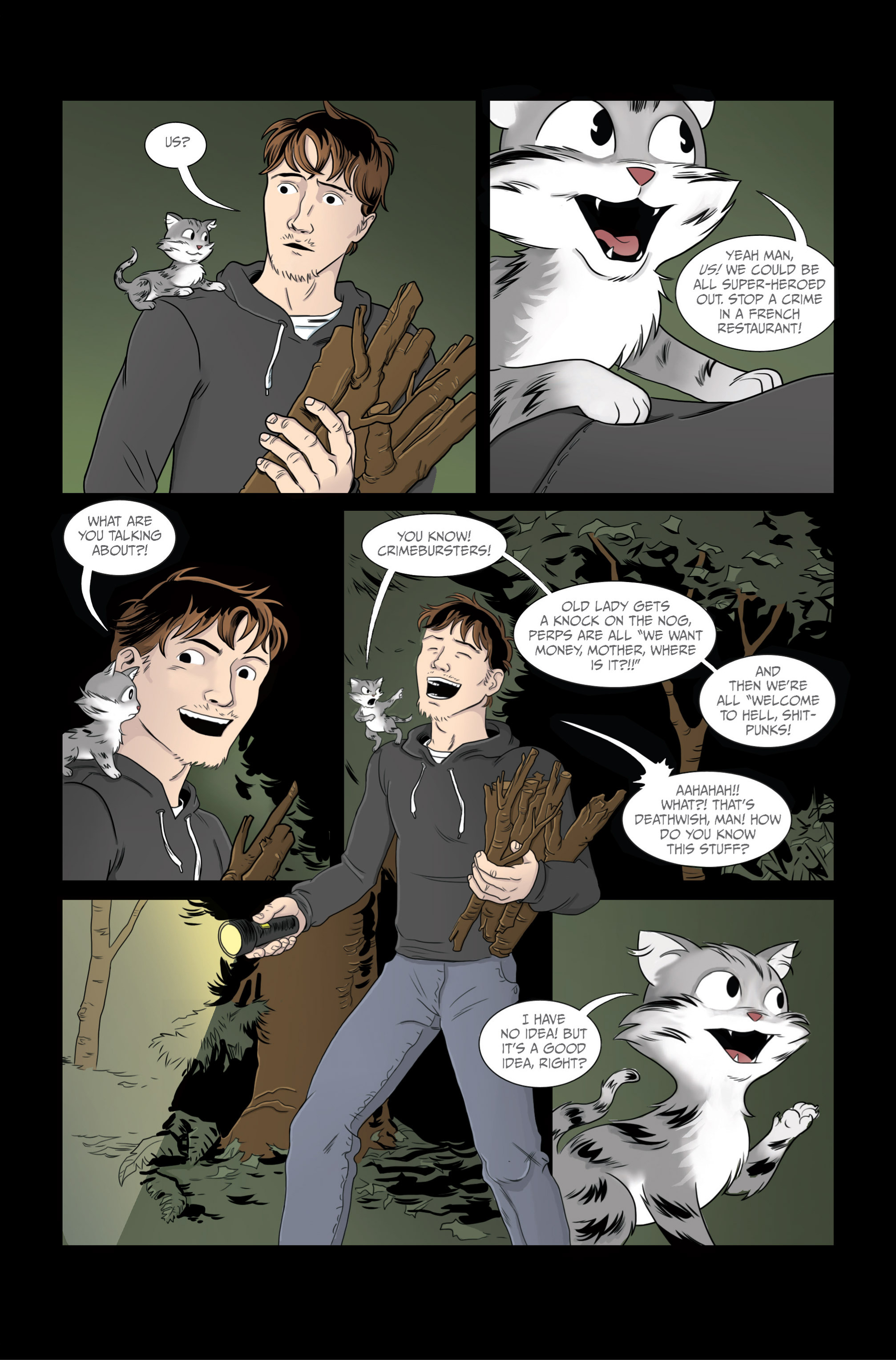 Read online Ehmm Theory: Everything & Small Doses comic -  Issue #2 - 24