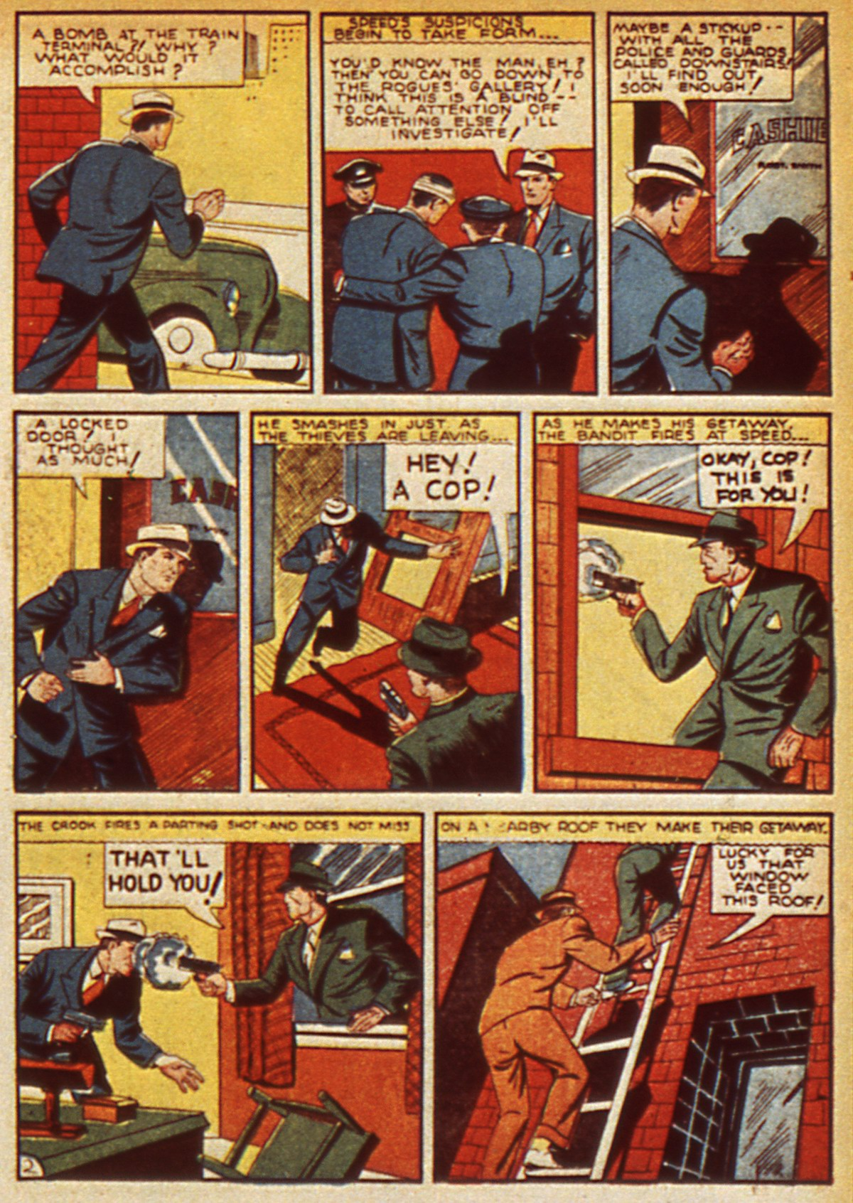 Read online Detective Comics (1937) comic -  Issue #45 - 37