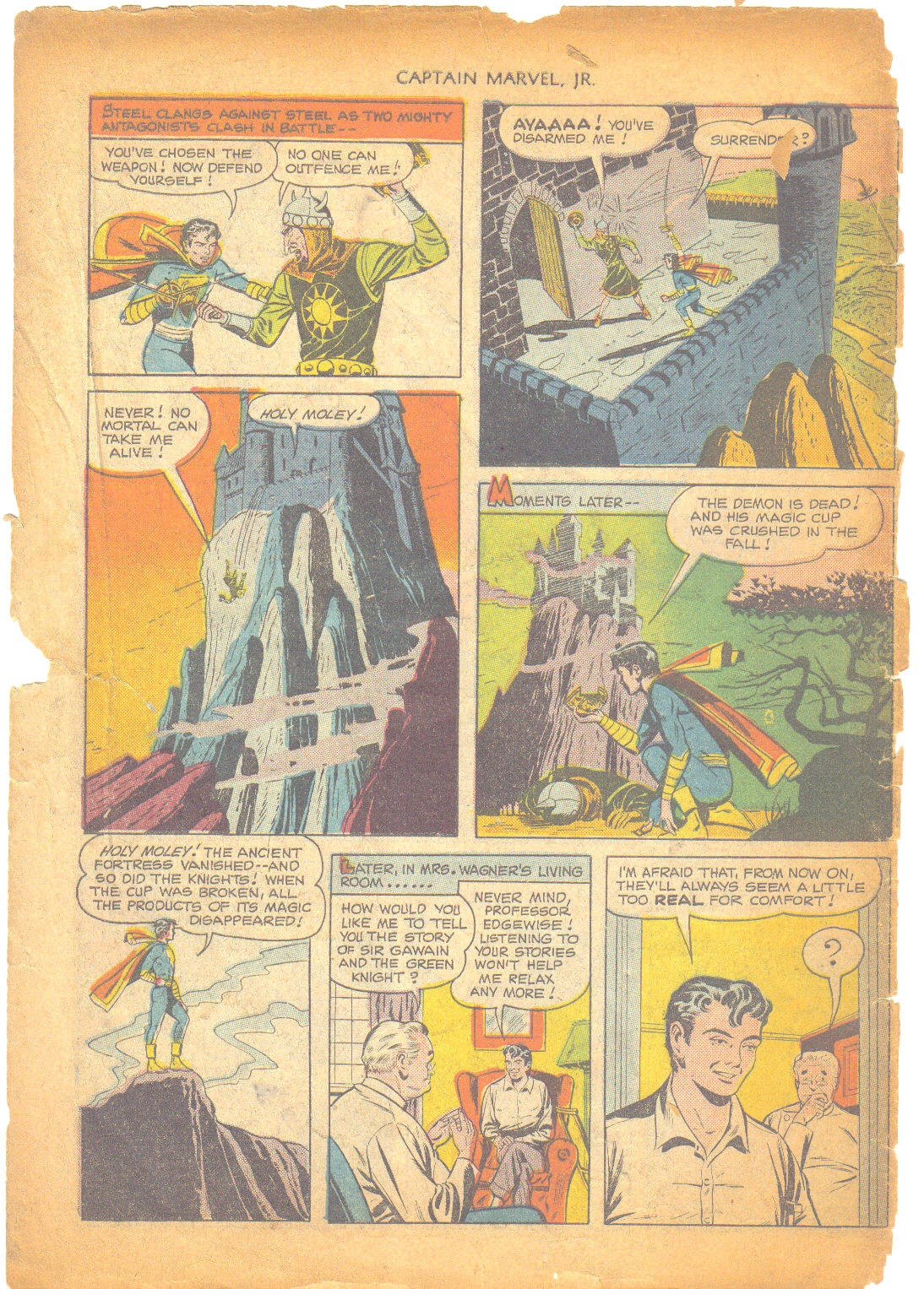 Captain Marvel, Jr. issue 95 - Page 49