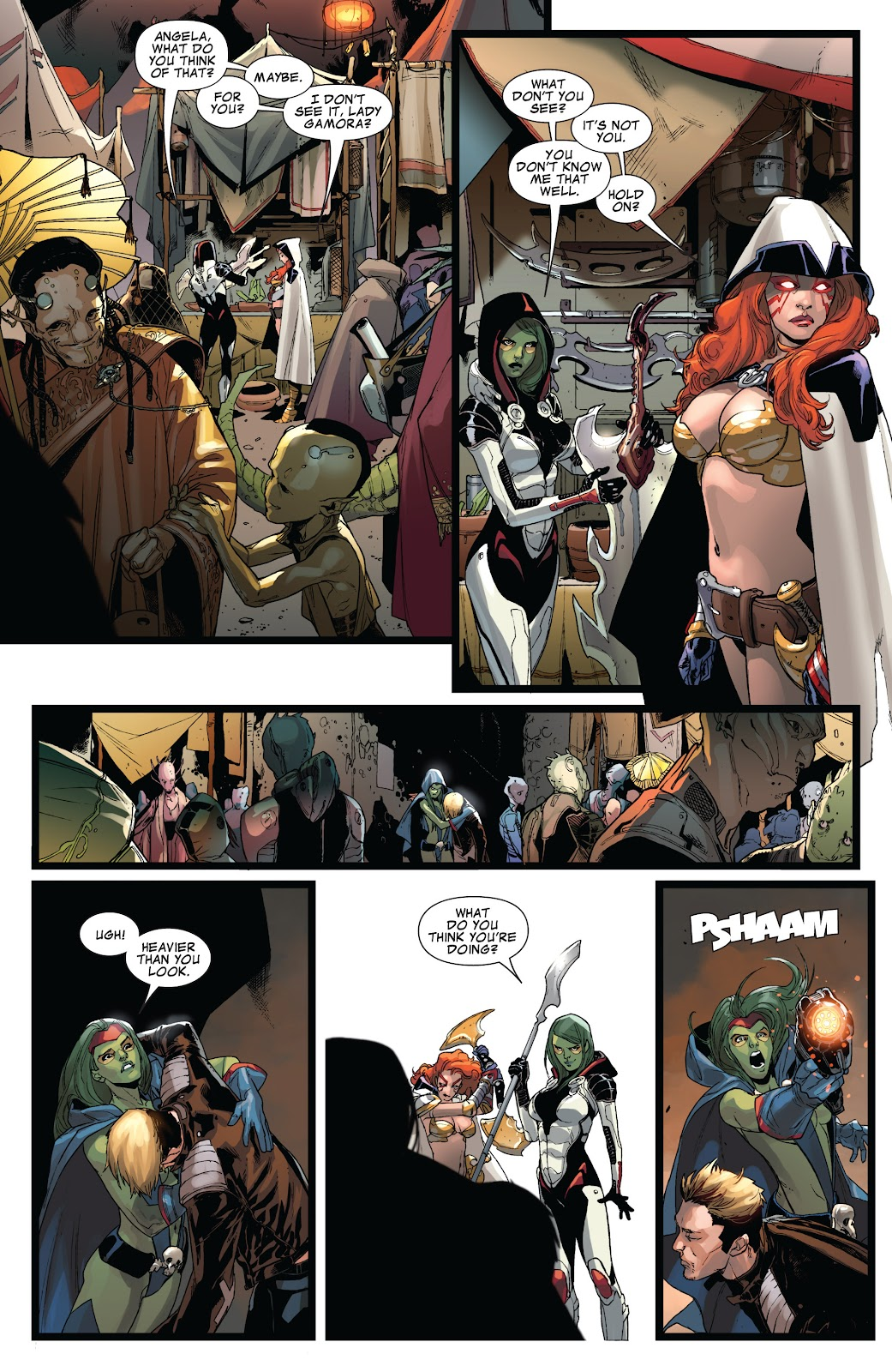 Guardians of the Galaxy/All-New X-Men: The Trial of Jean Grey issue TPB - Page 33